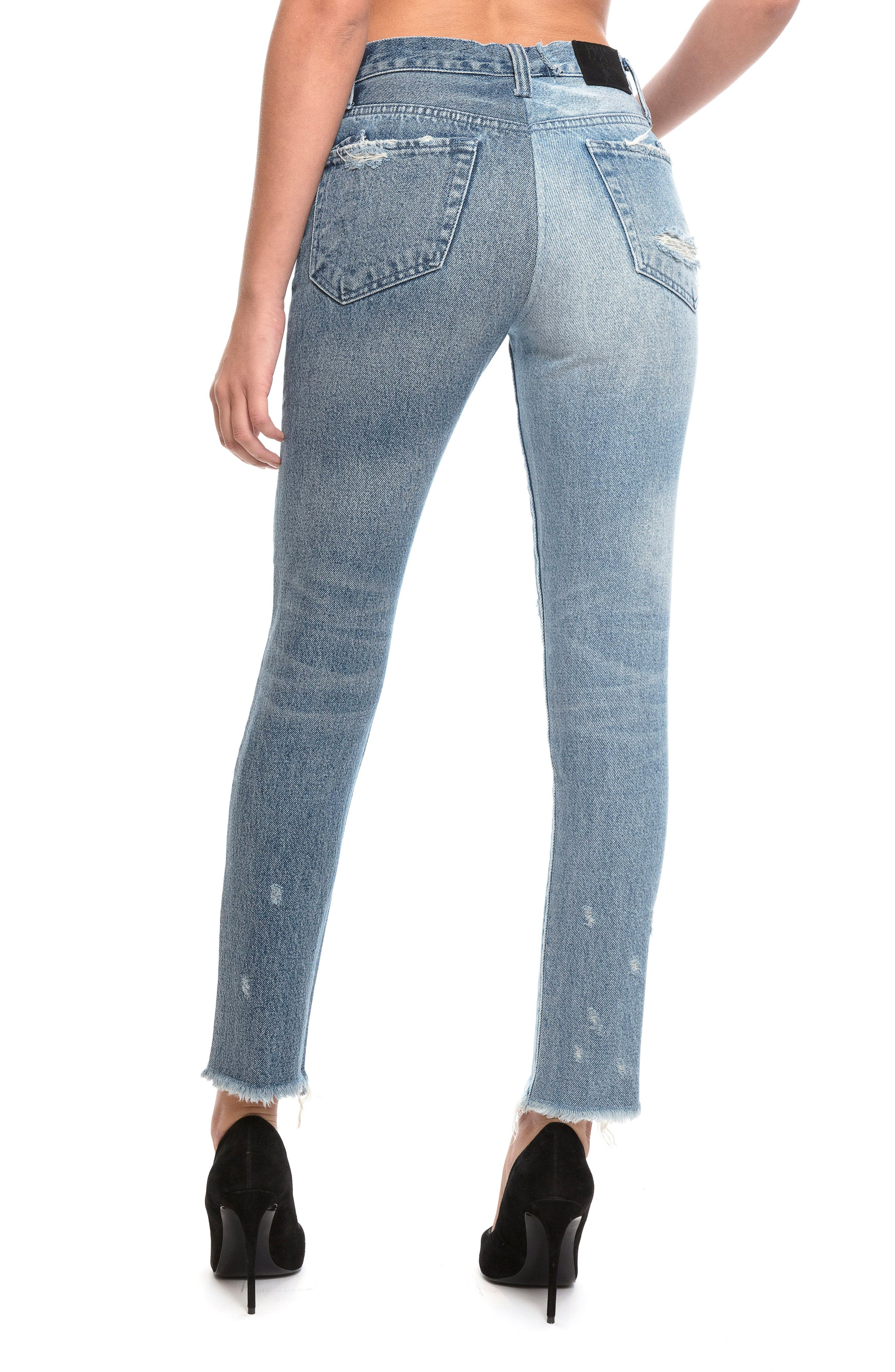 Alternate Image 2  - PRPS Chevelle Ankle Skinny Jeans