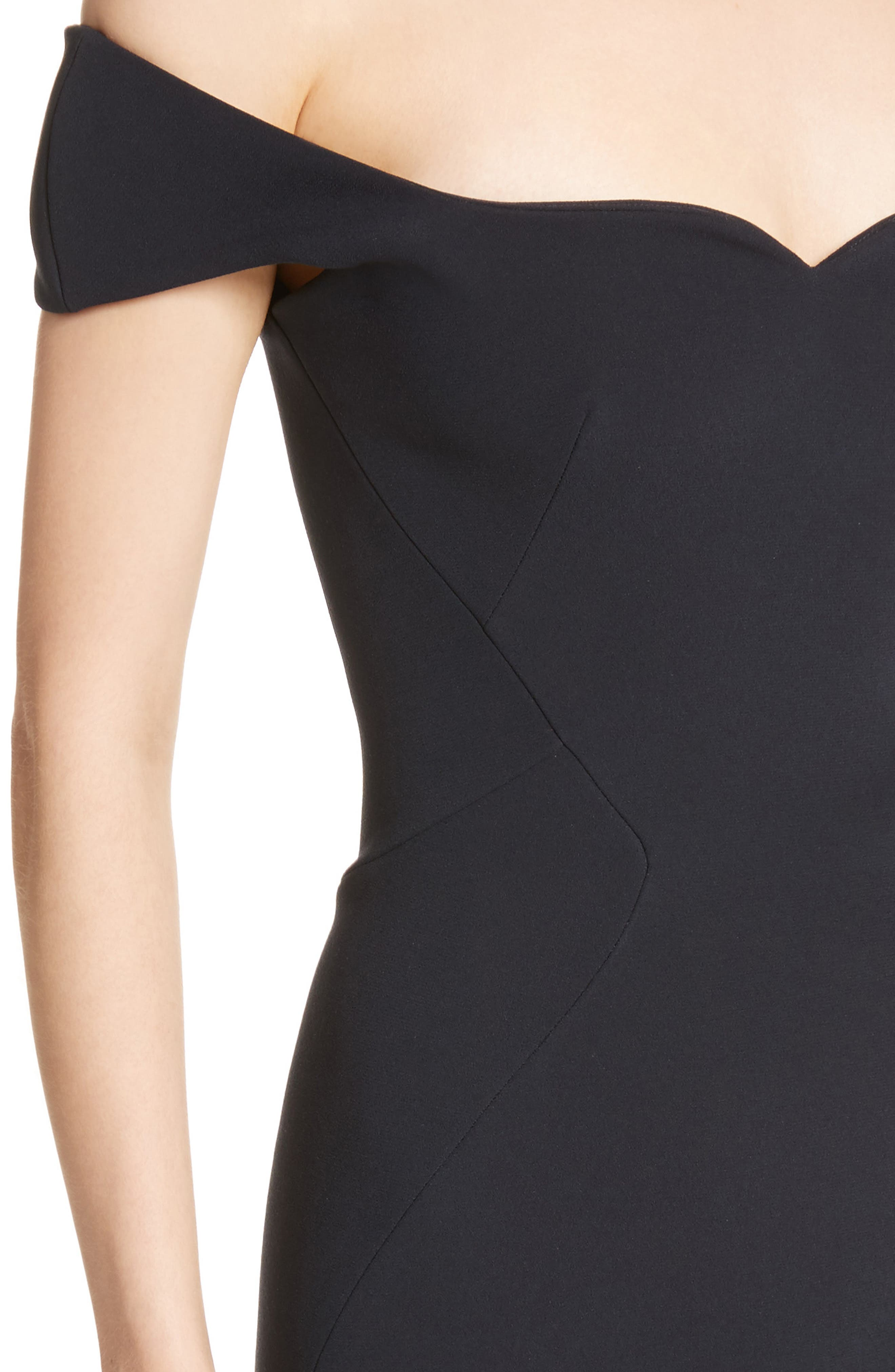 Alternate Image 4  - Zac Posen Off the Shoulder Sheath Dress