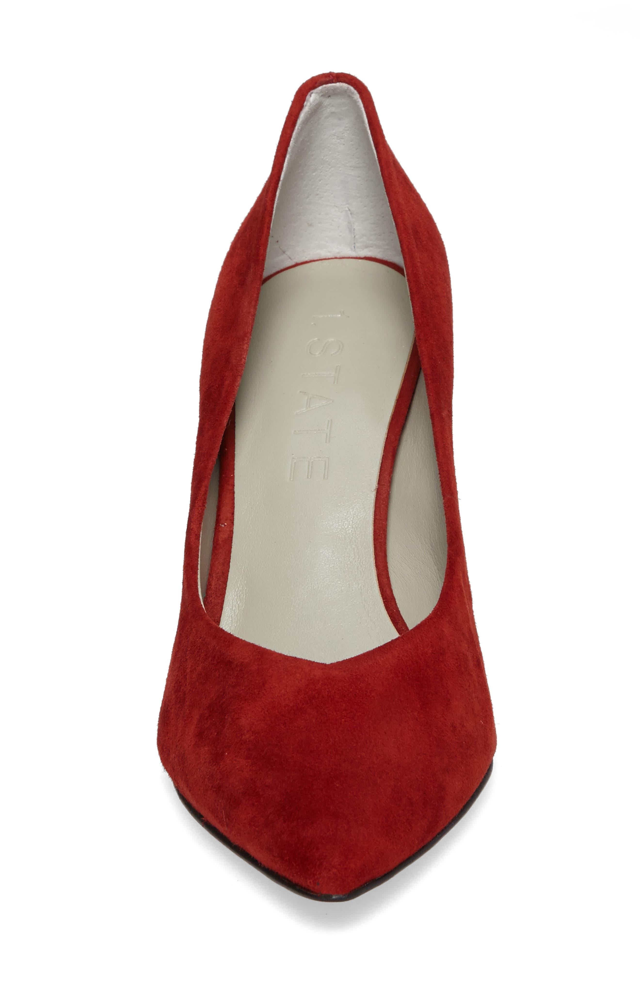 Alternate Image 4  - 1.STATE Saffy Block Heel Pump (Women)