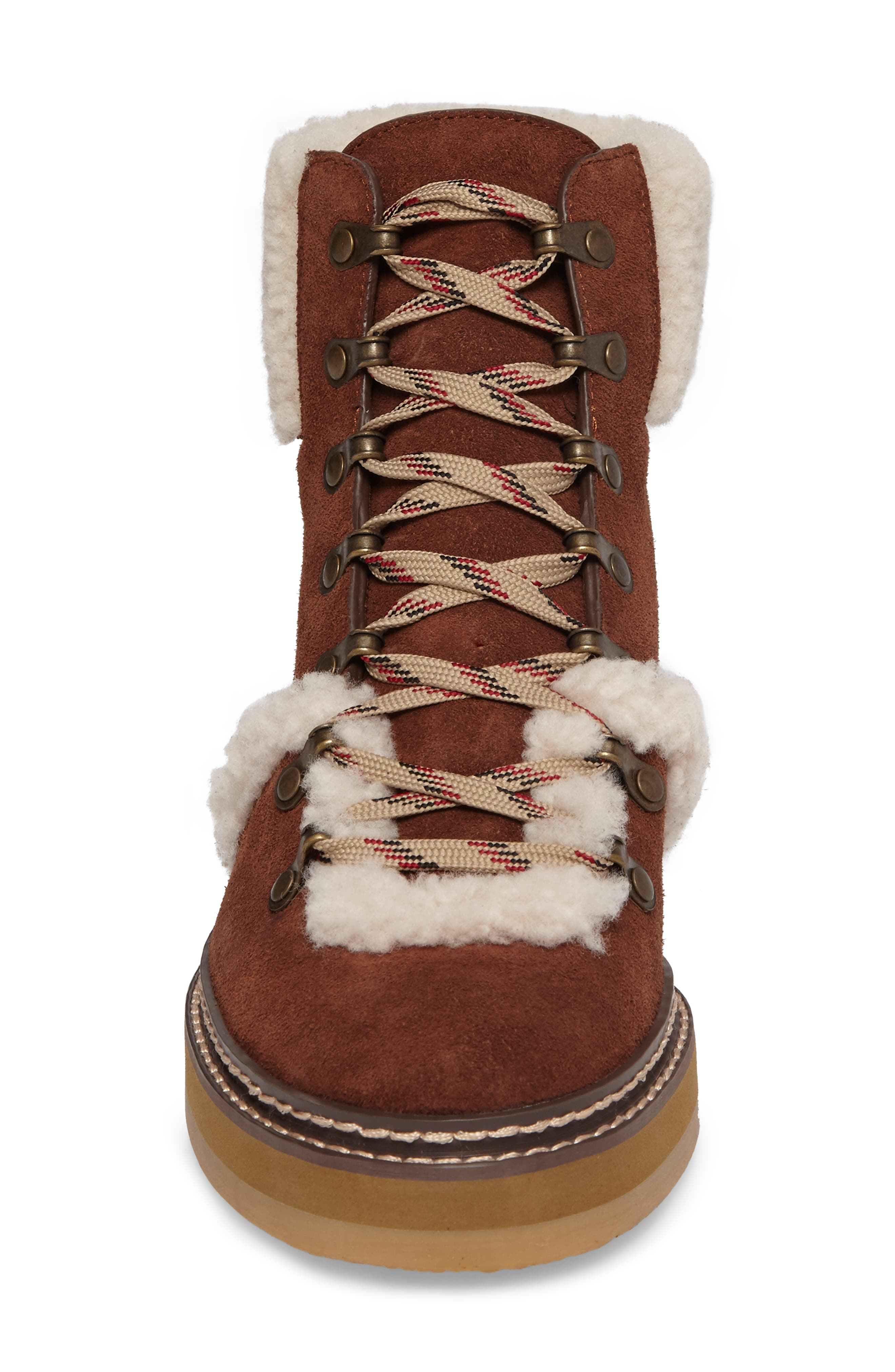 Alternate Image 4  - See by Chloé 'Eileen' Genuine Shearling Boot