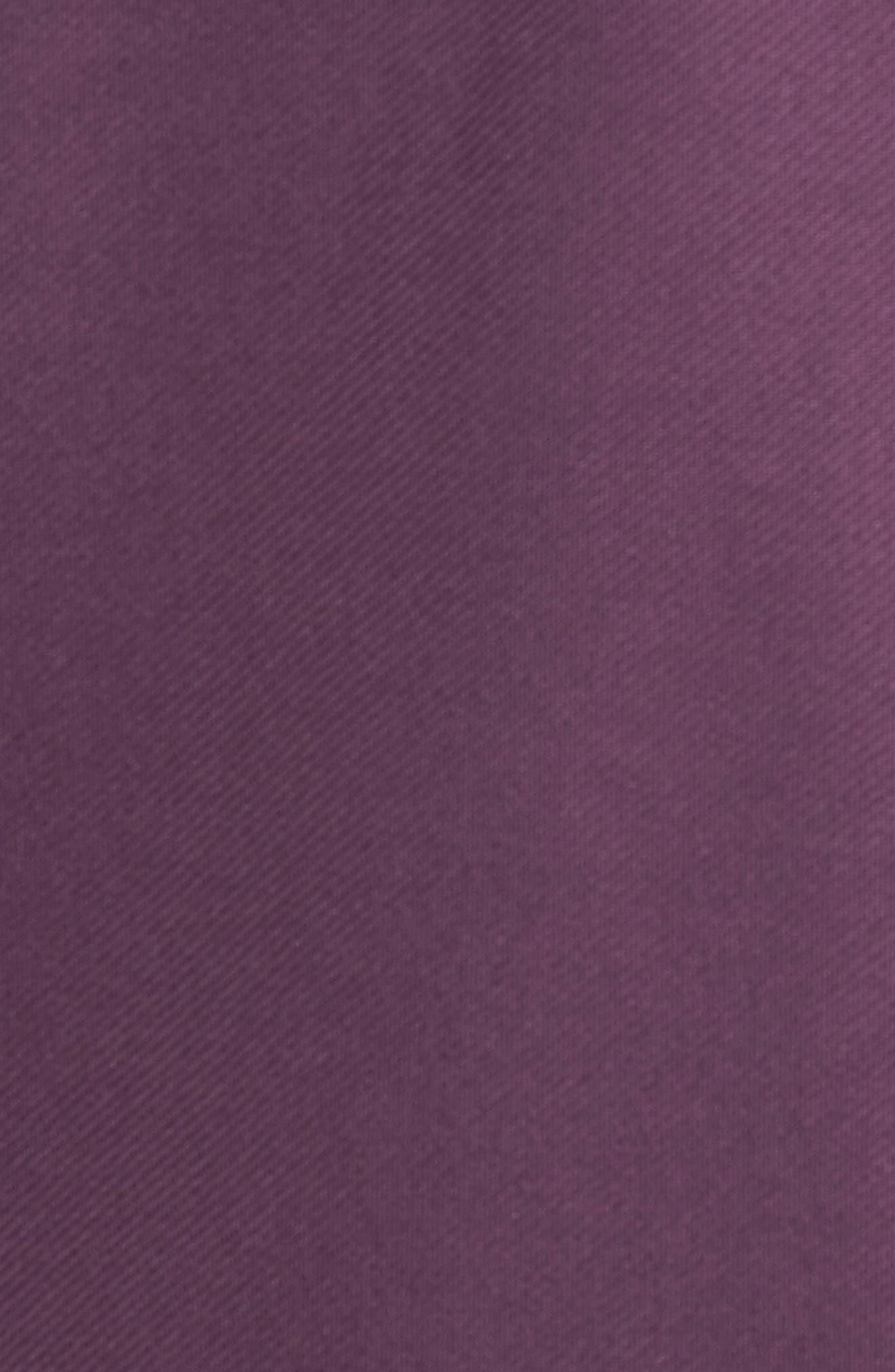 XH20 Banded Bottom Pullover,                             Alternate thumbnail 5, color,                             Blackberry