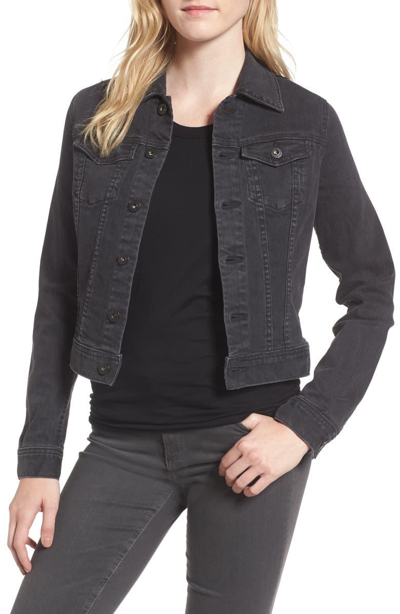 'Robyn' Crop Denim Jacket