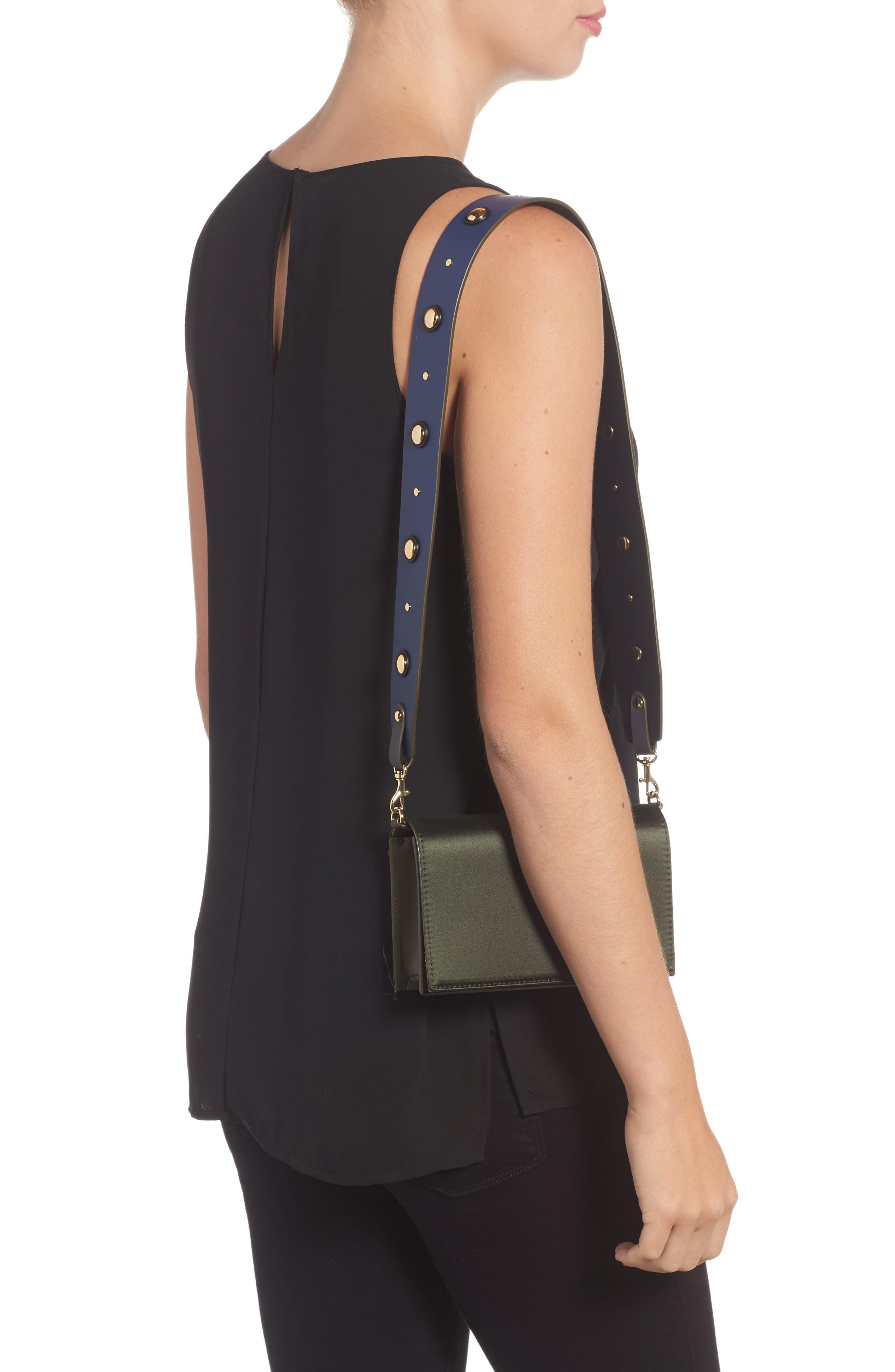 Alternate Image 2  - Diane von Furstenberg Soirée Satin Convertible Crossbody Bag
