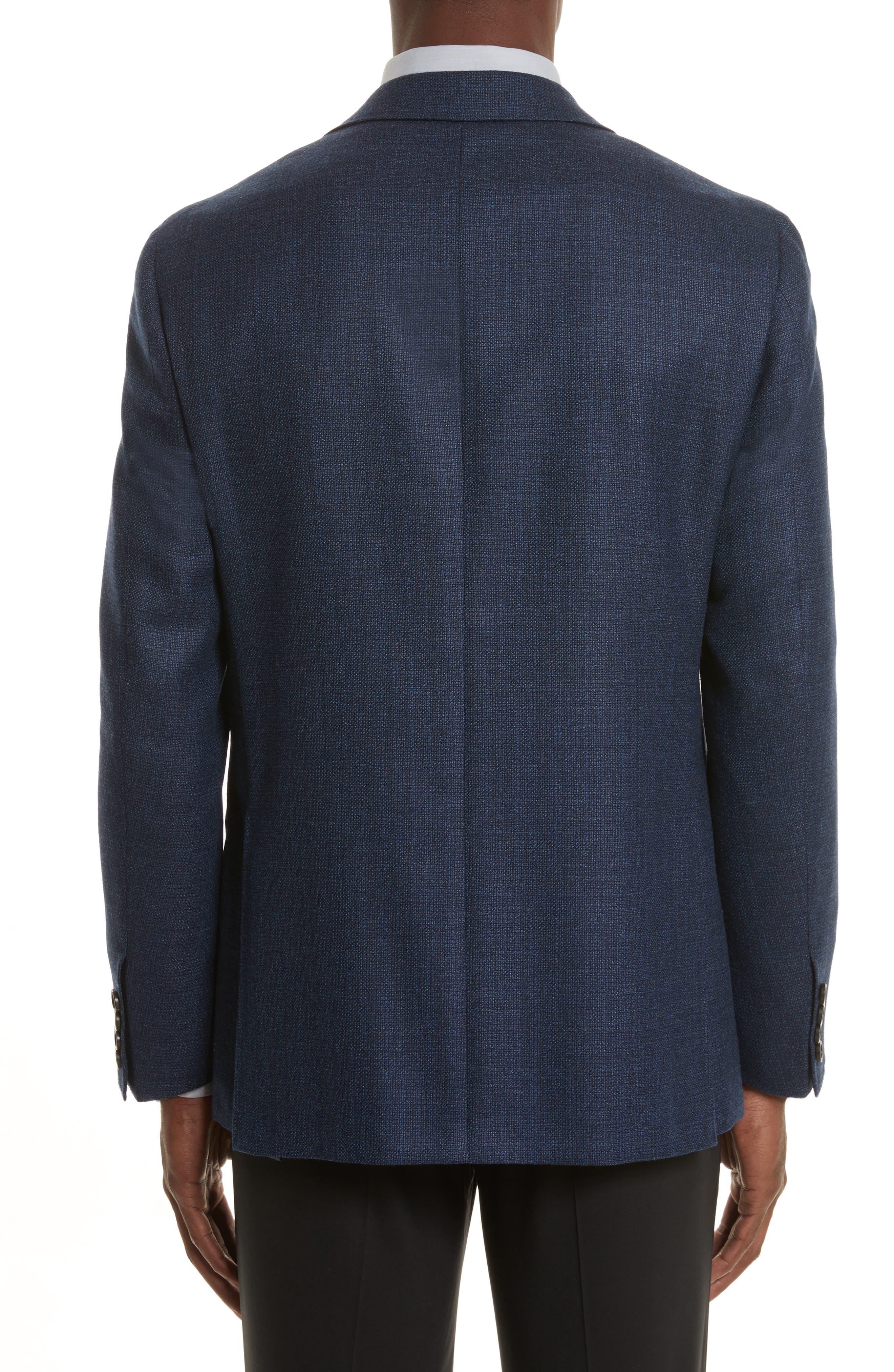 Kei Classic Fit Wool Blazer,                             Alternate thumbnail 2, color,                             Blue