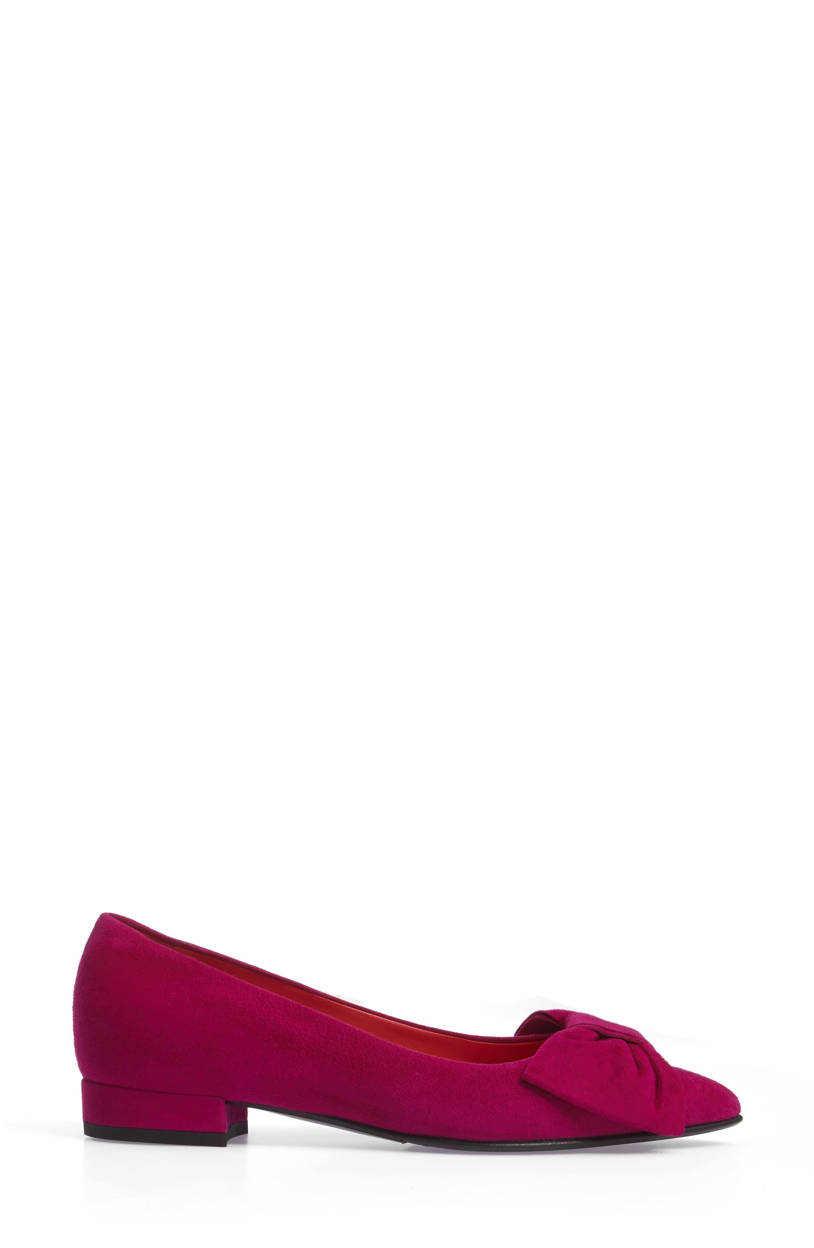 Alternate Image 3  - Pas de Rouge Bow Detail Pump (Women)