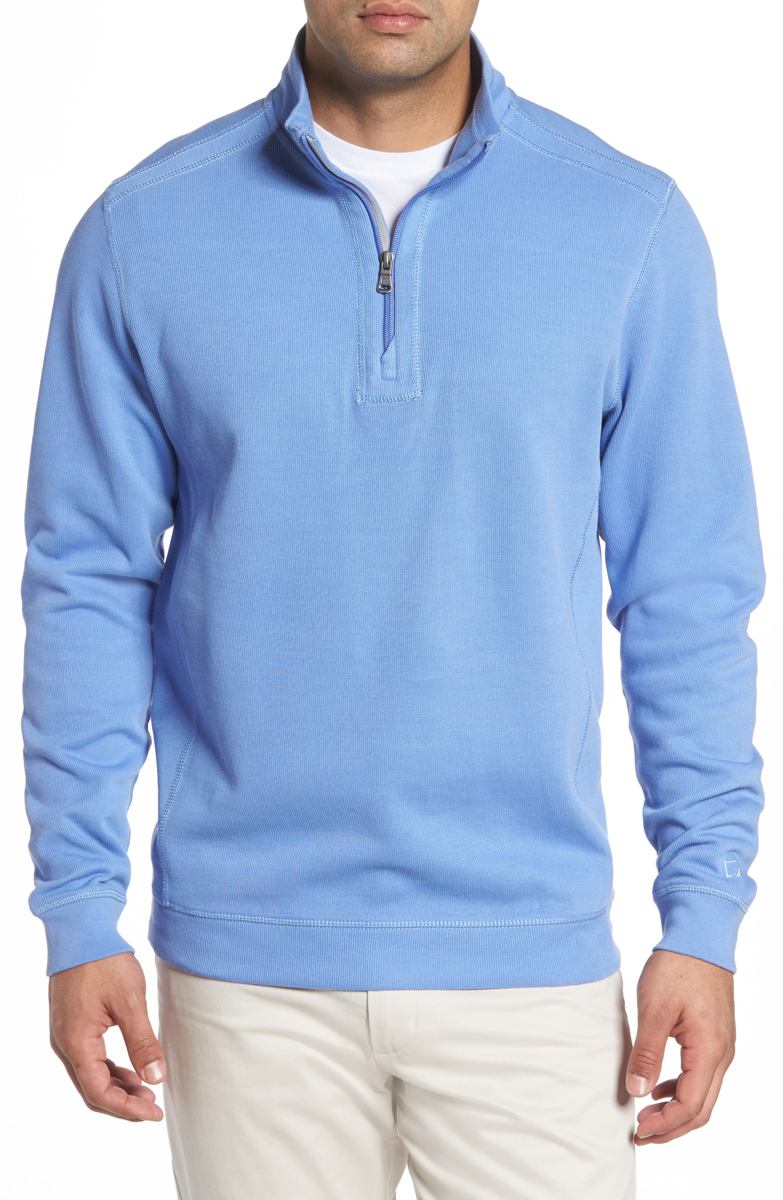 Cutter & Buck Bayview Quarter Zip Pullover (Big & Tall)