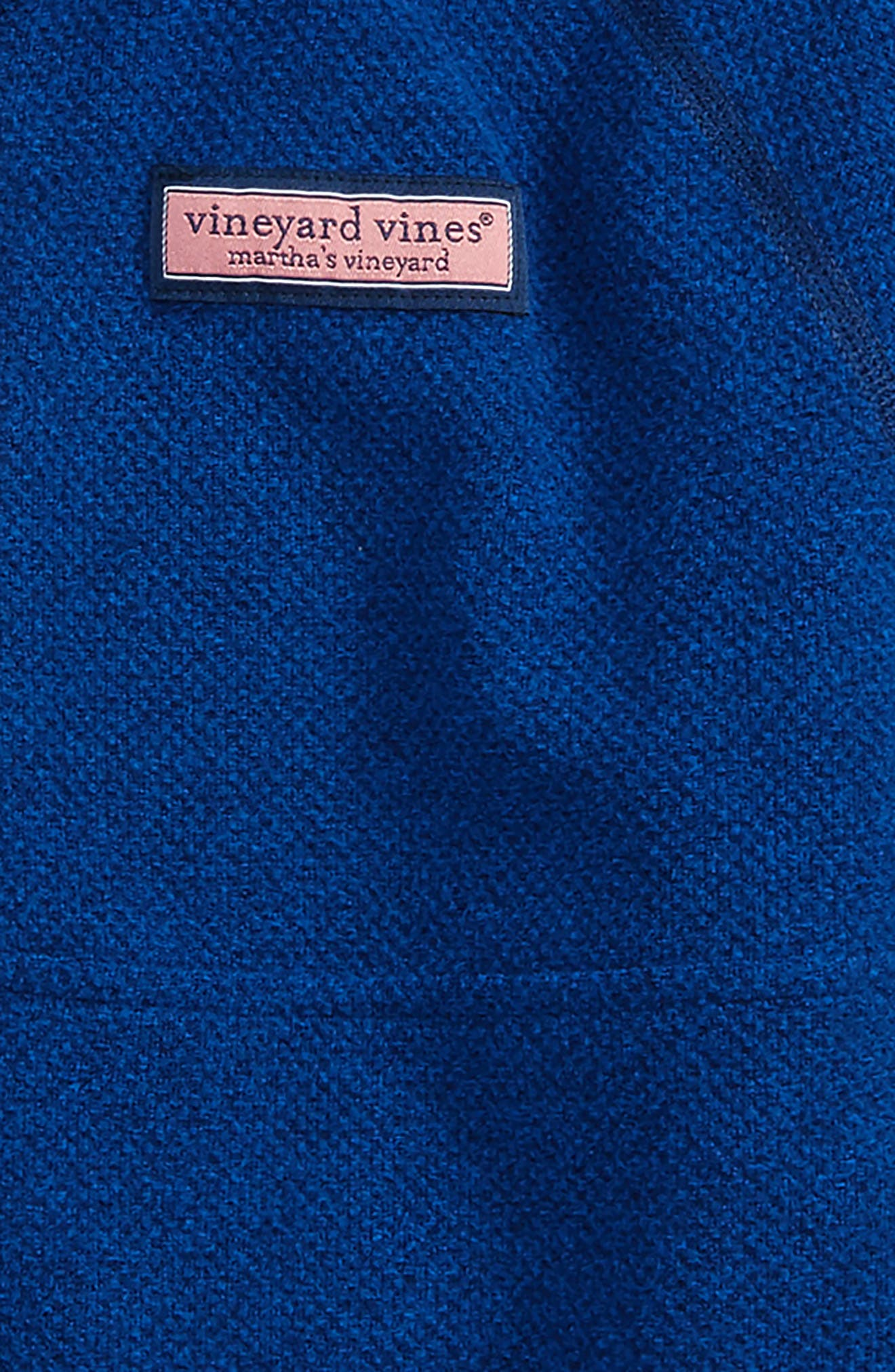 Alternate Image 2  - vineyard vines Quarter Zip Sweater (Big Boys)