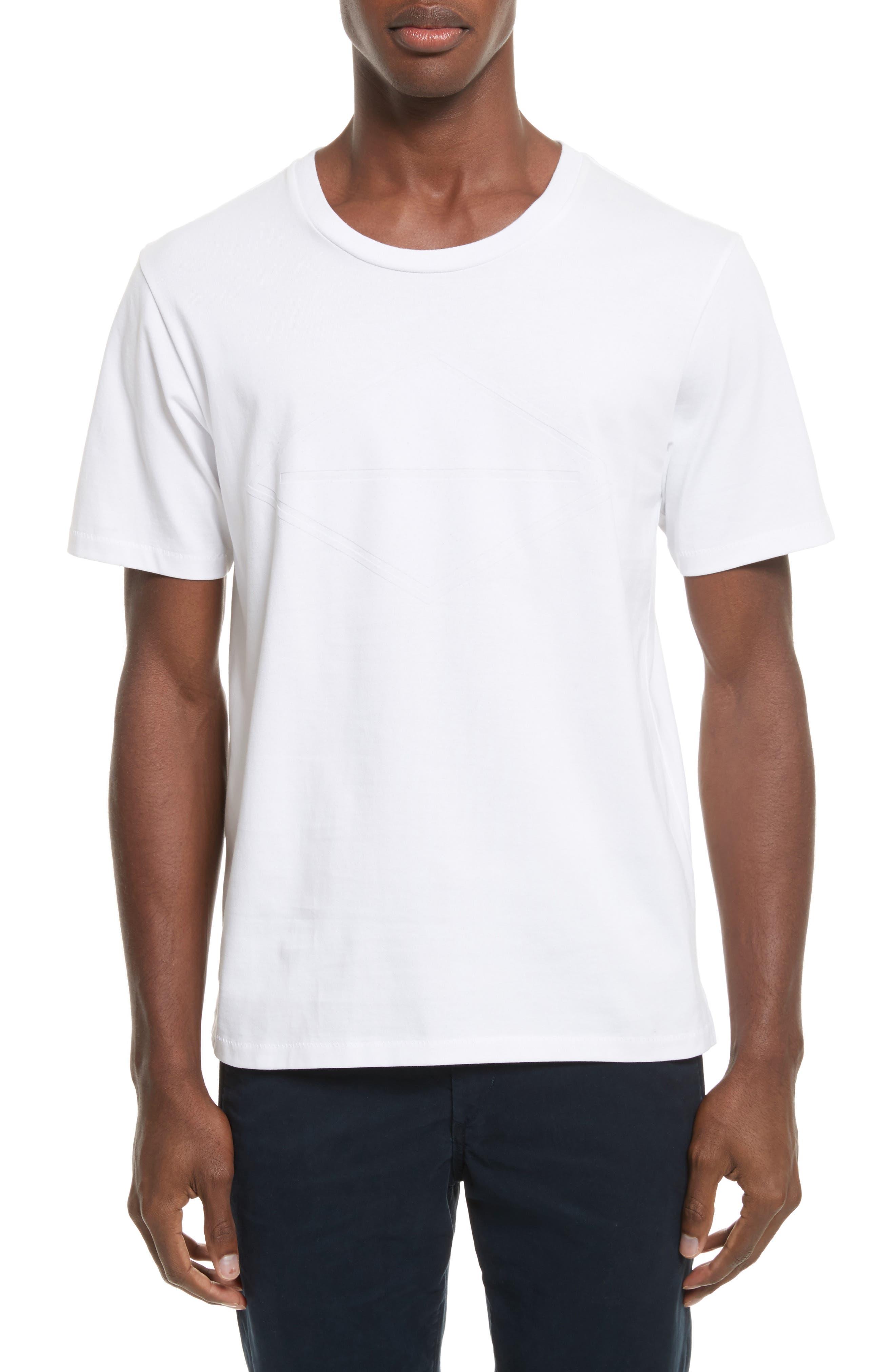 Diamond T-Shirt,                         Main,                         color, White