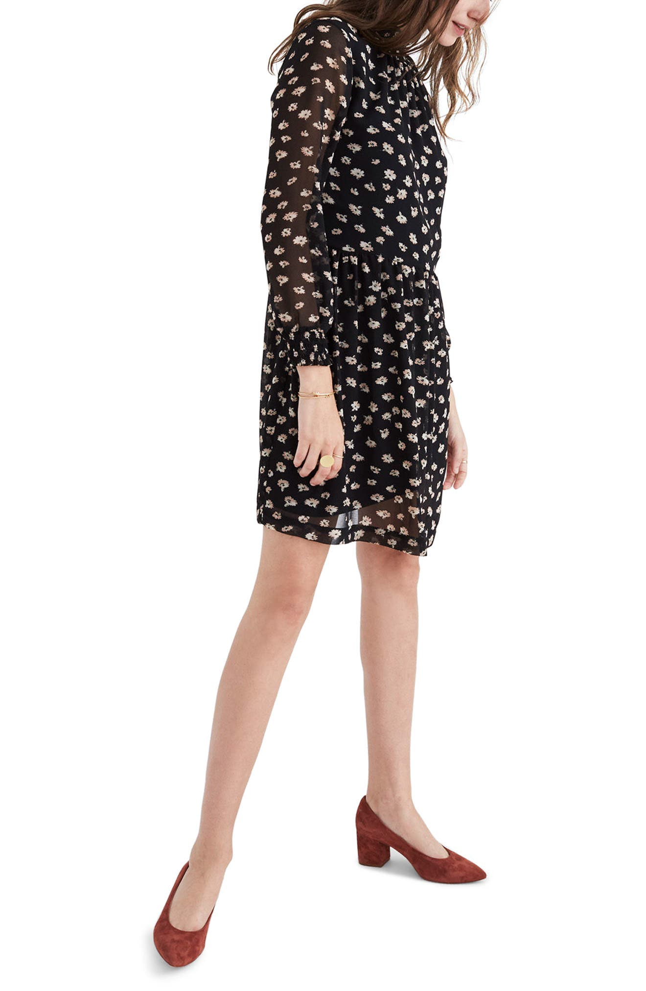 Alternate Image 3  - Madewell Mistlight Mock Neck Dress