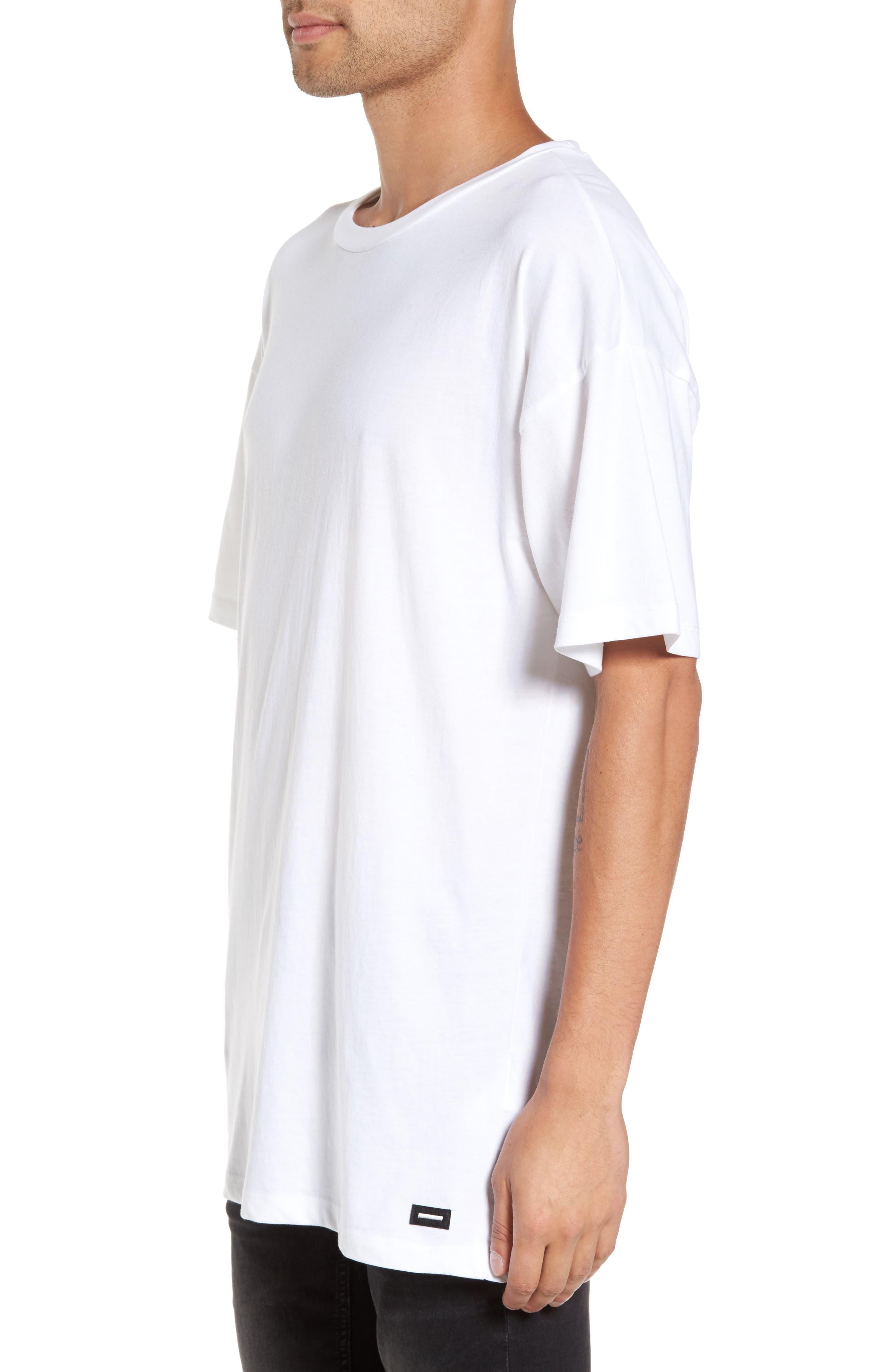 Marlon T-Shirt,                             Alternate thumbnail 3, color,                             White