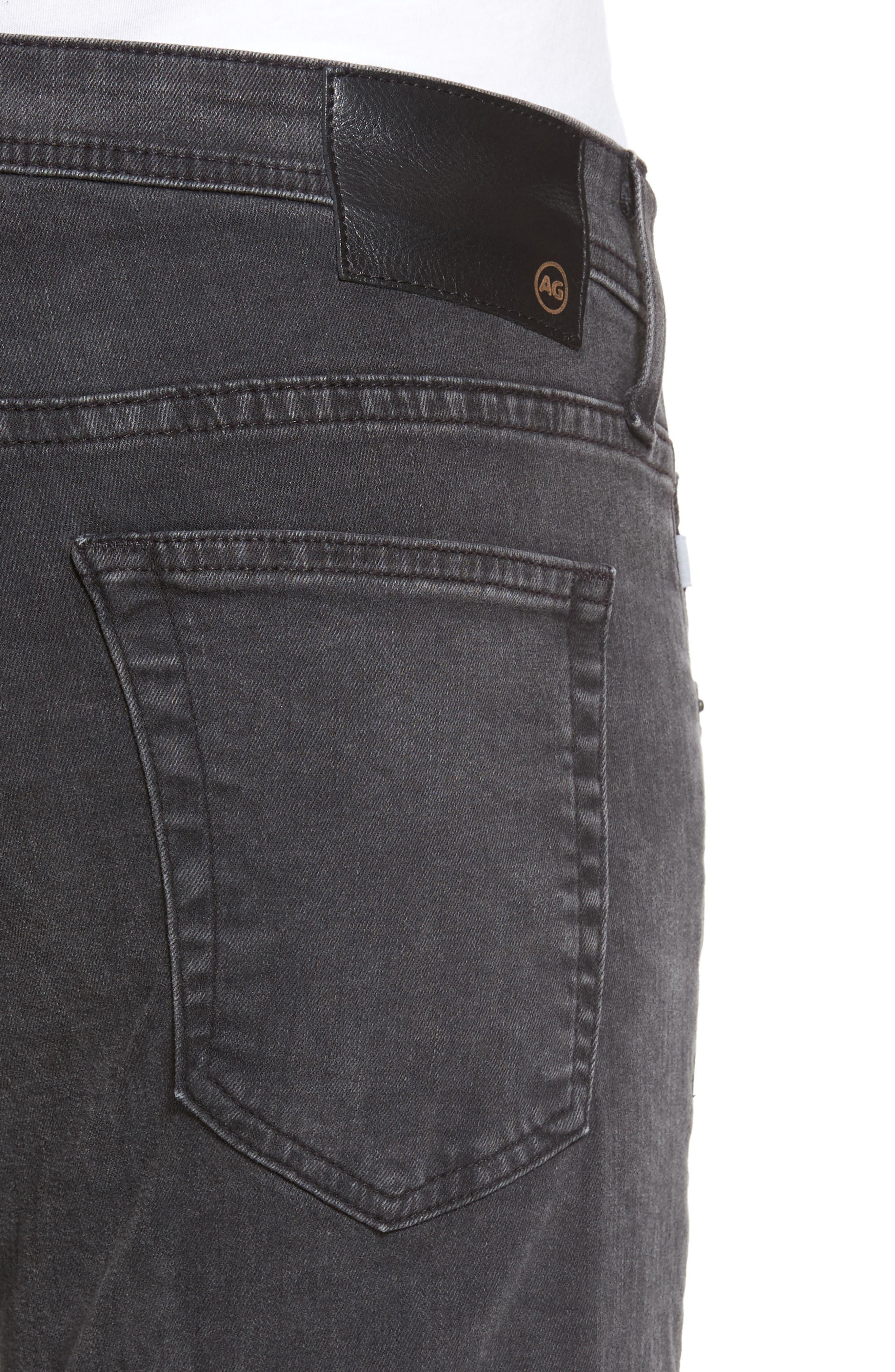 Alternate Image 4  - AG Stockton Skinny Fit Jeans (10 Years Black Dunes)