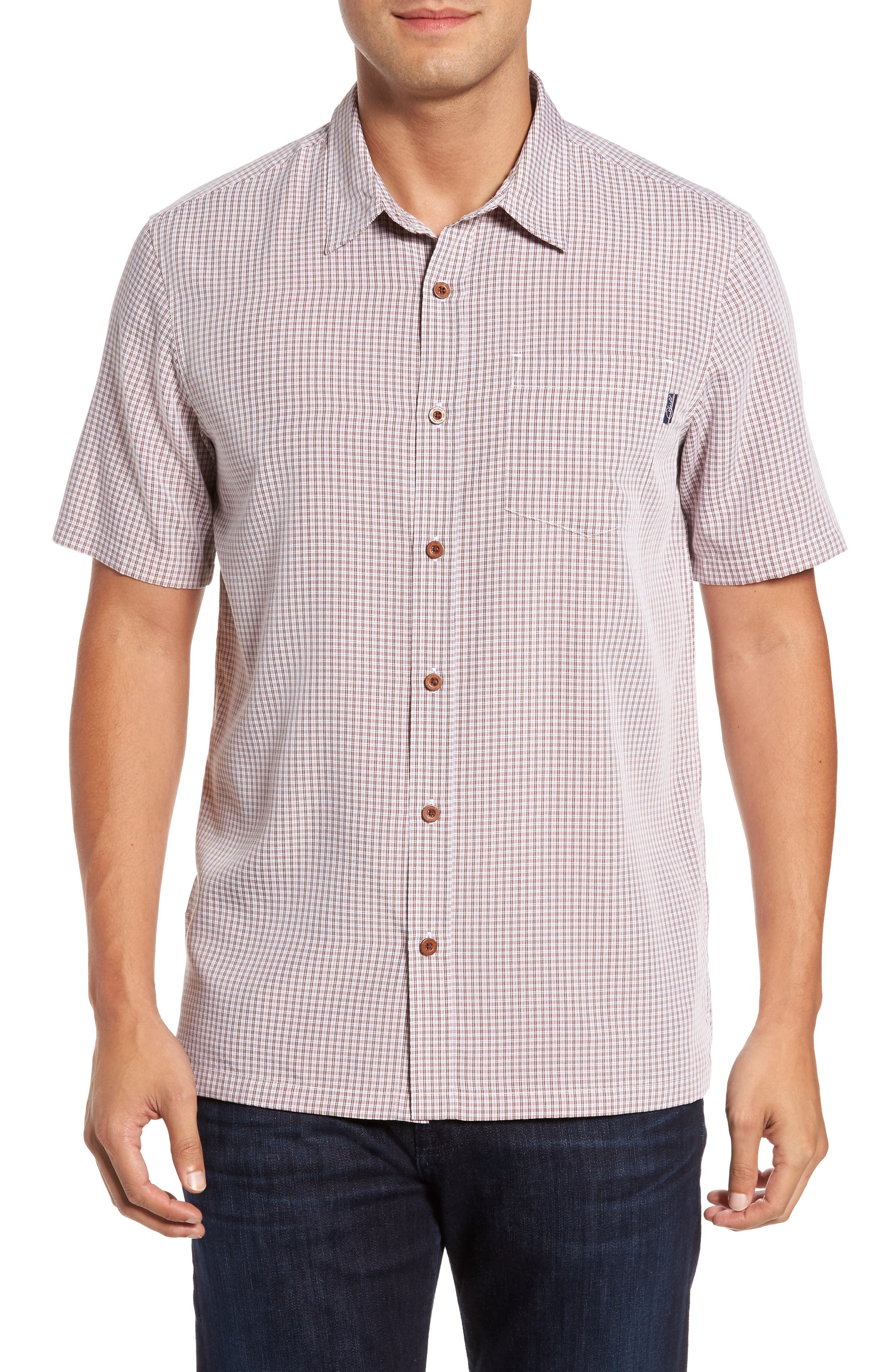 Ford Sport Shirt,                         Main,                         color, Picante