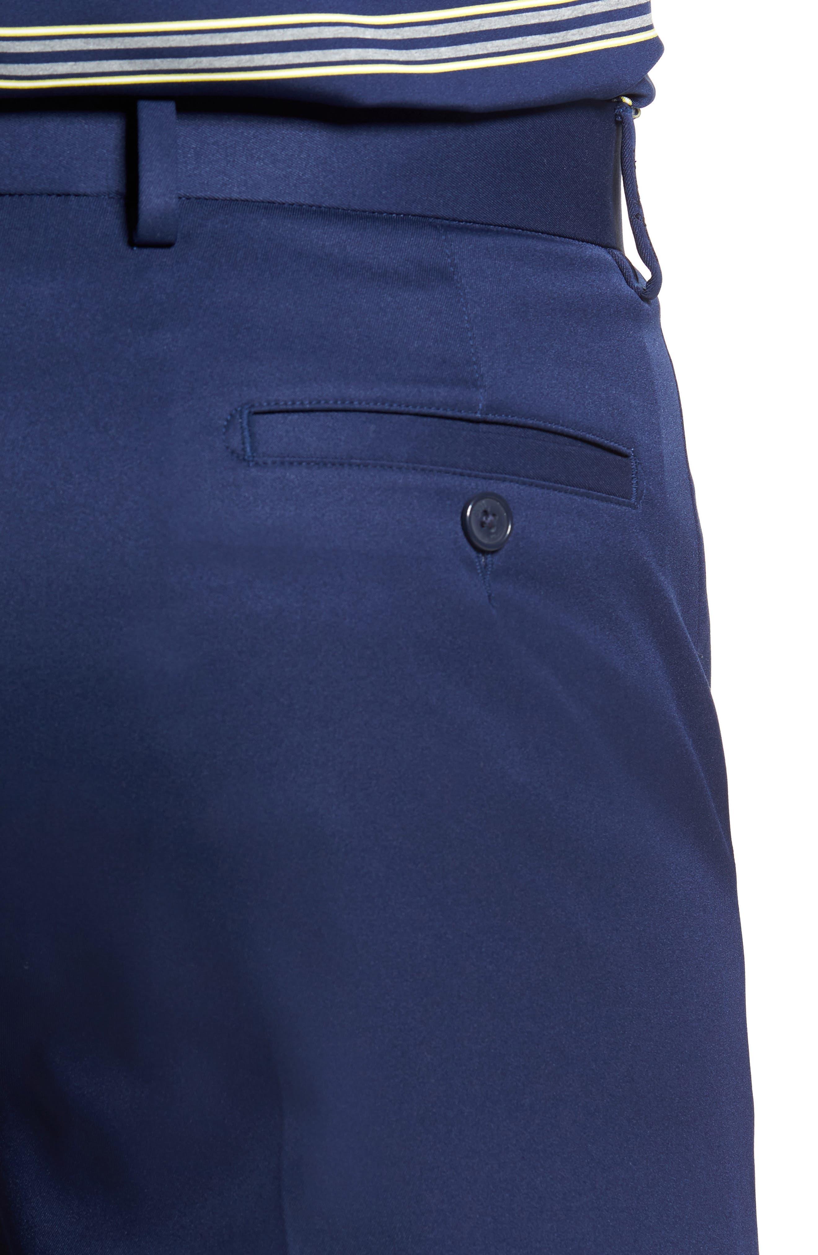 Alternate Image 4  - Bobby Jones Flat Front Tech Shorts