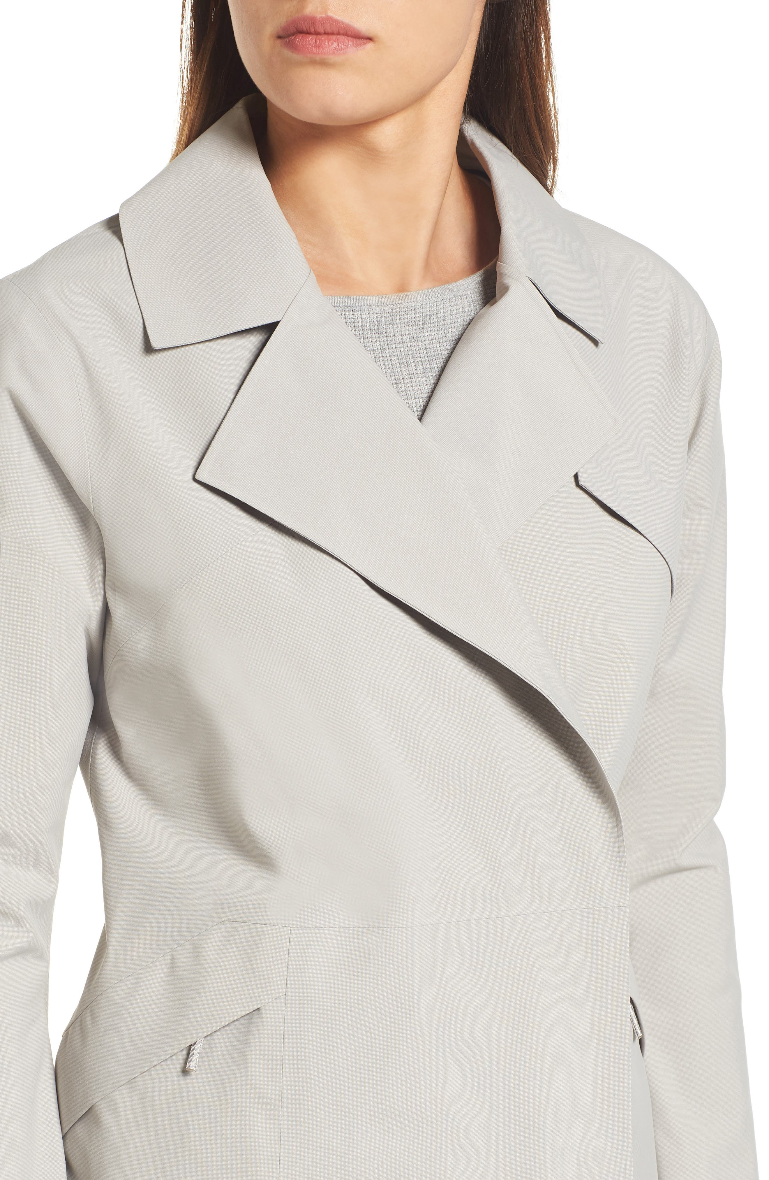 Nila Gore-Tex<sup>®</sup> Trench Coat,                             Alternate thumbnail 4, color,                             Fawn