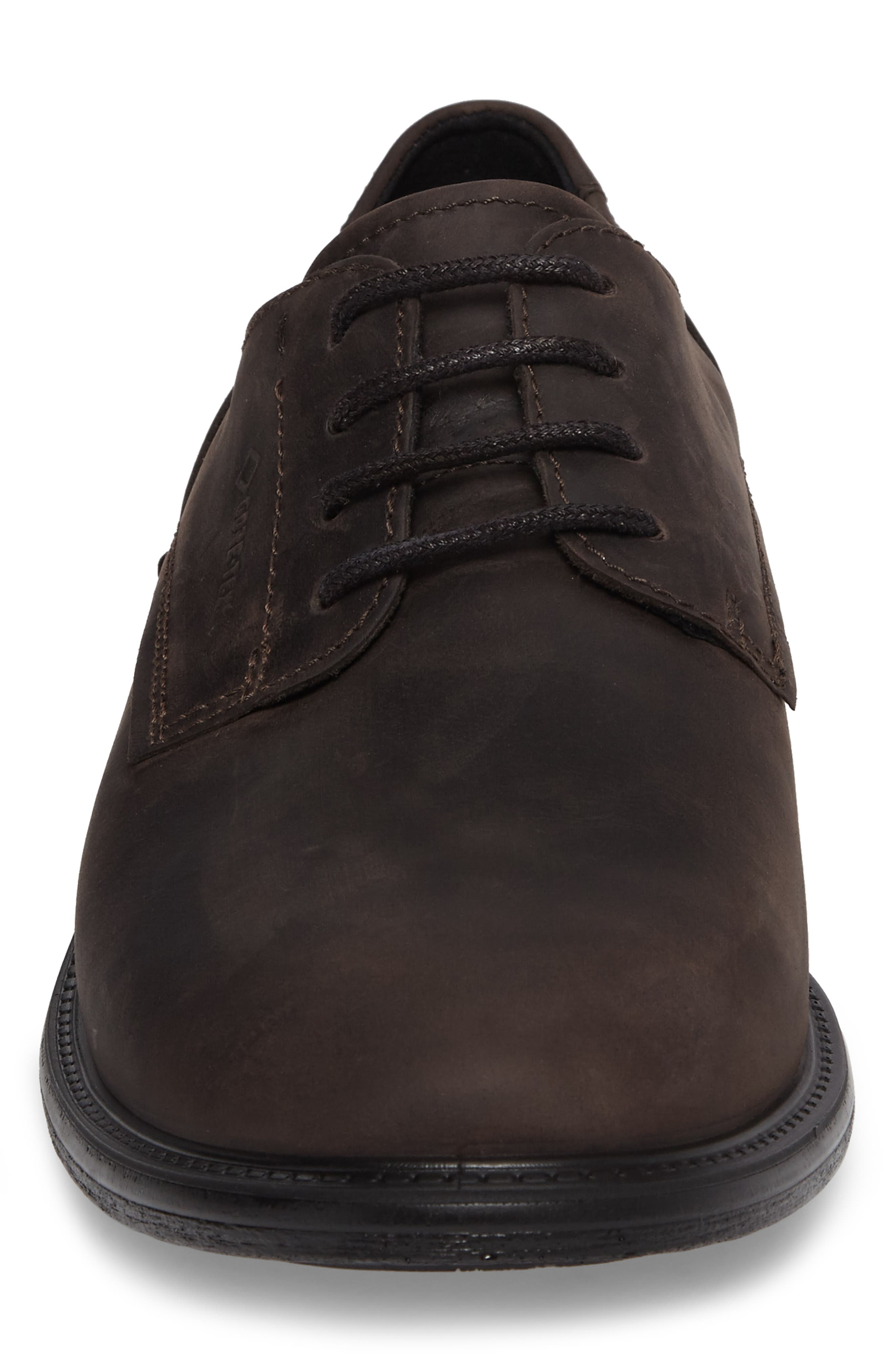 Alternate Image 5  - ECCO Knoxville Plain Toe Waterproof Gore-Tex® Derby (Men)