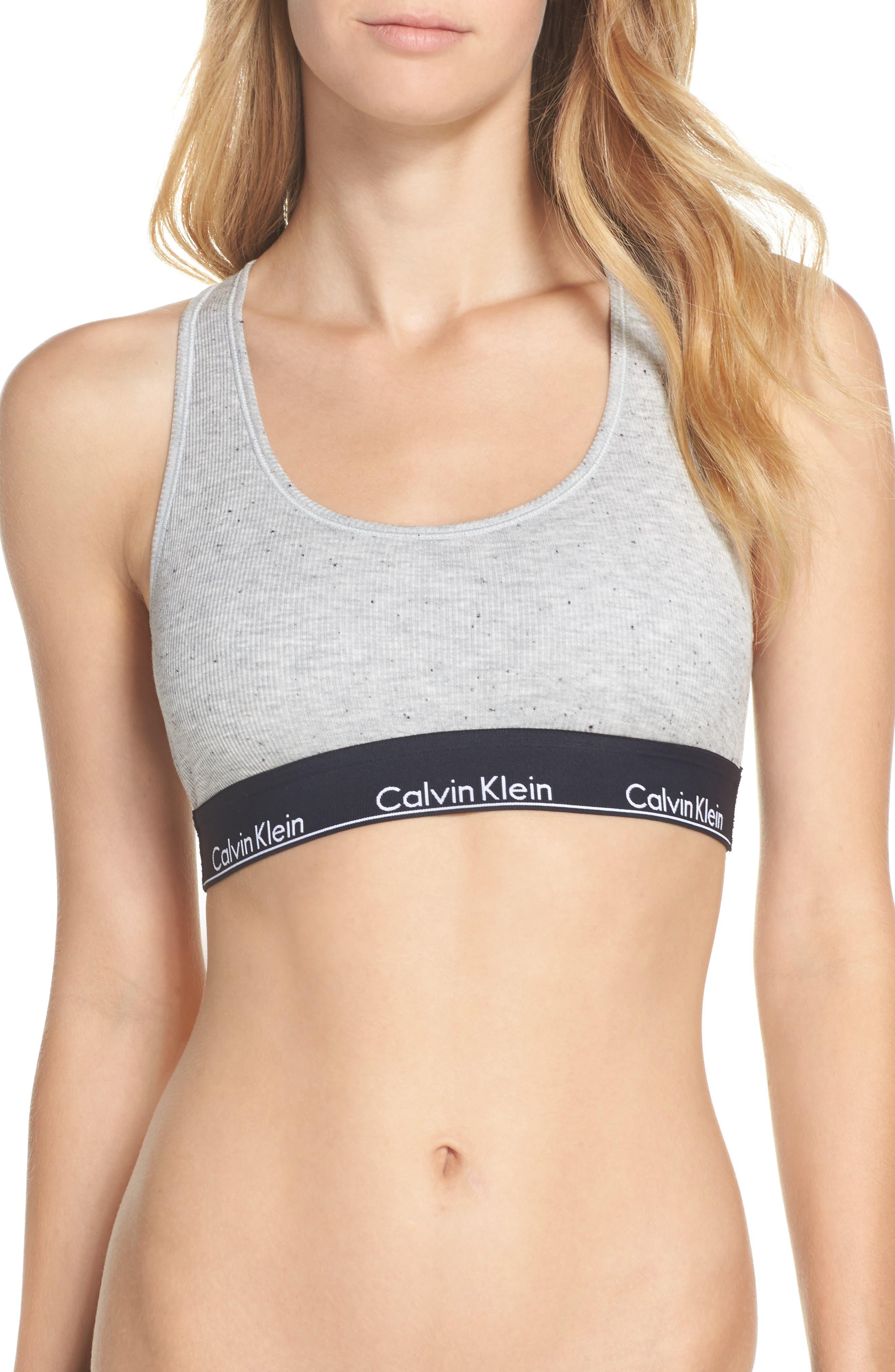Alternate Image 1 Selected - Calvin Klein Modern Racerback Bralette