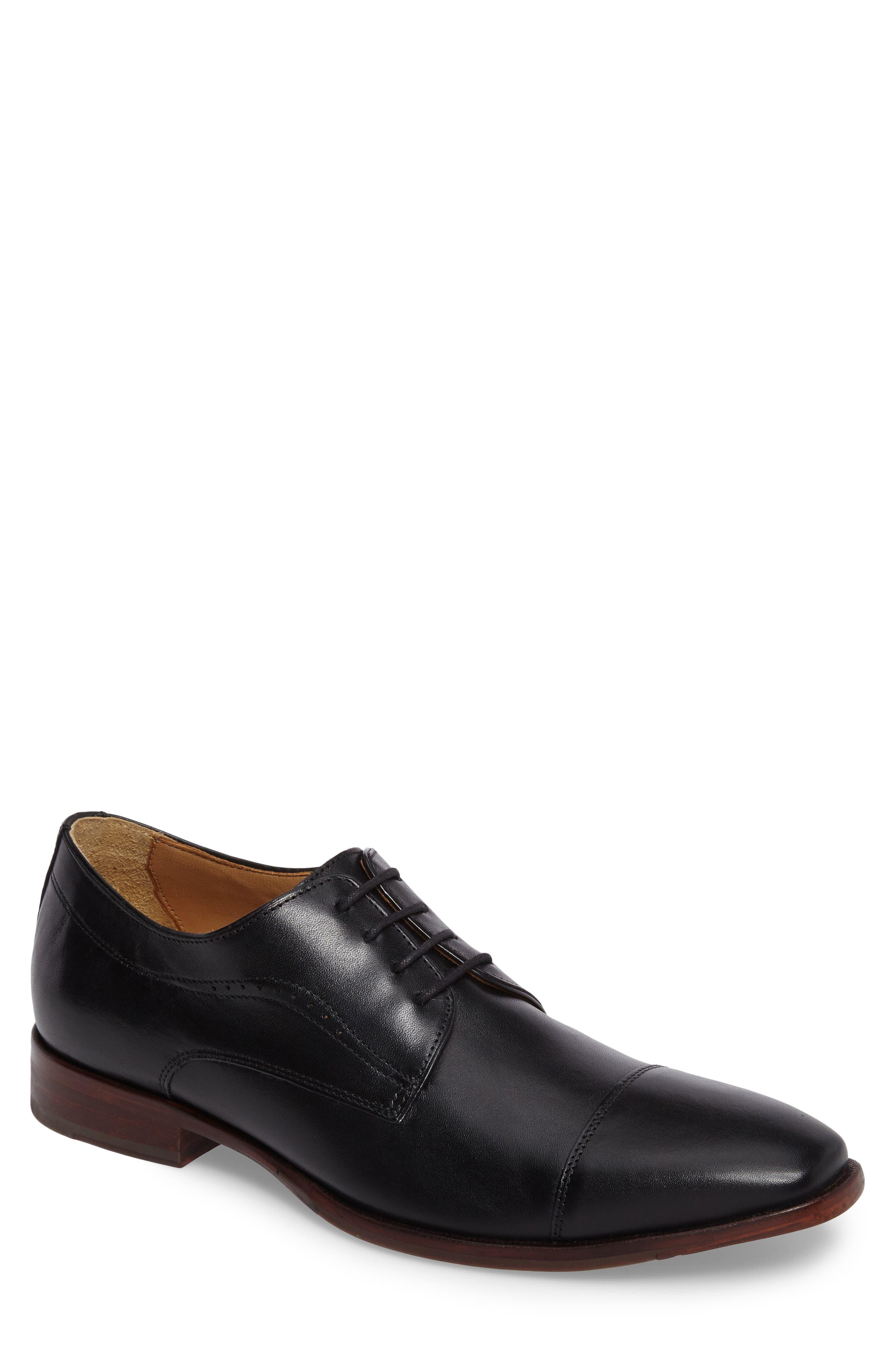 McClain Cap Toe Derby,                         Main,                         color, Black