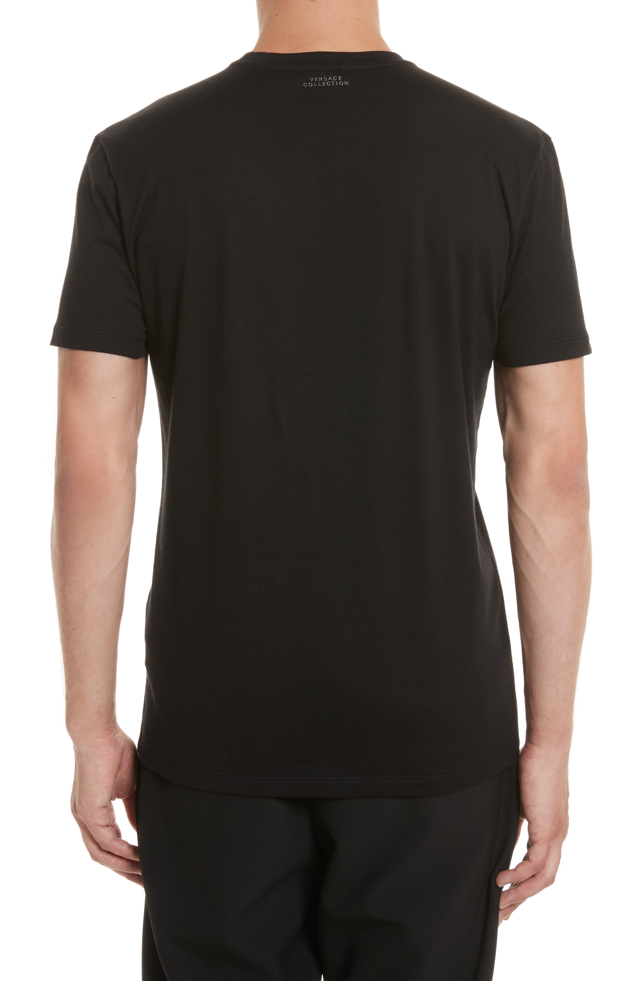 Alternate Image 2  - Versace Collection Baroque Foil Print T-Shirt