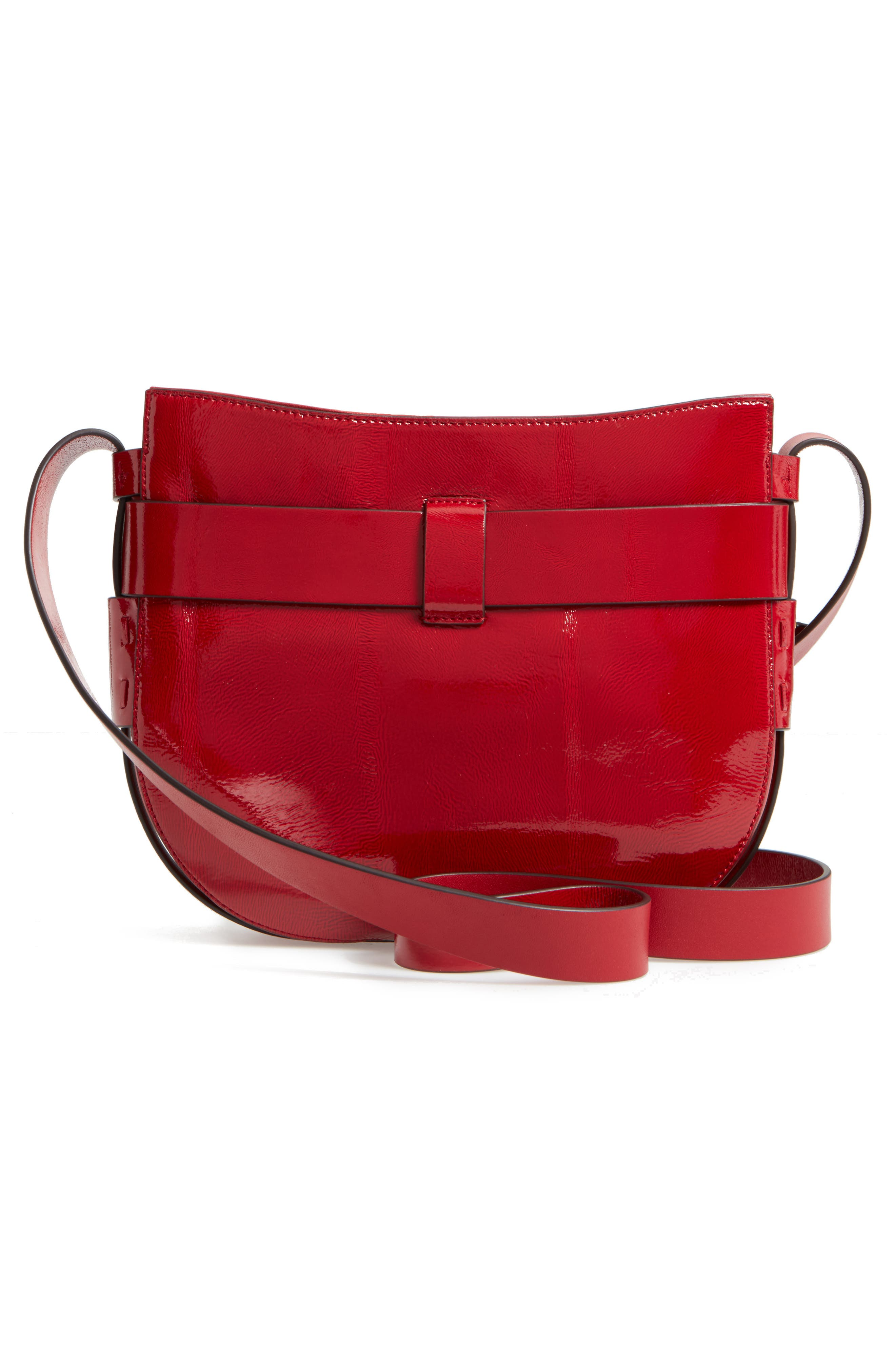 Alternate Image 2  - Tory Burch Gemini Link Patent Leather Crossbody Bag