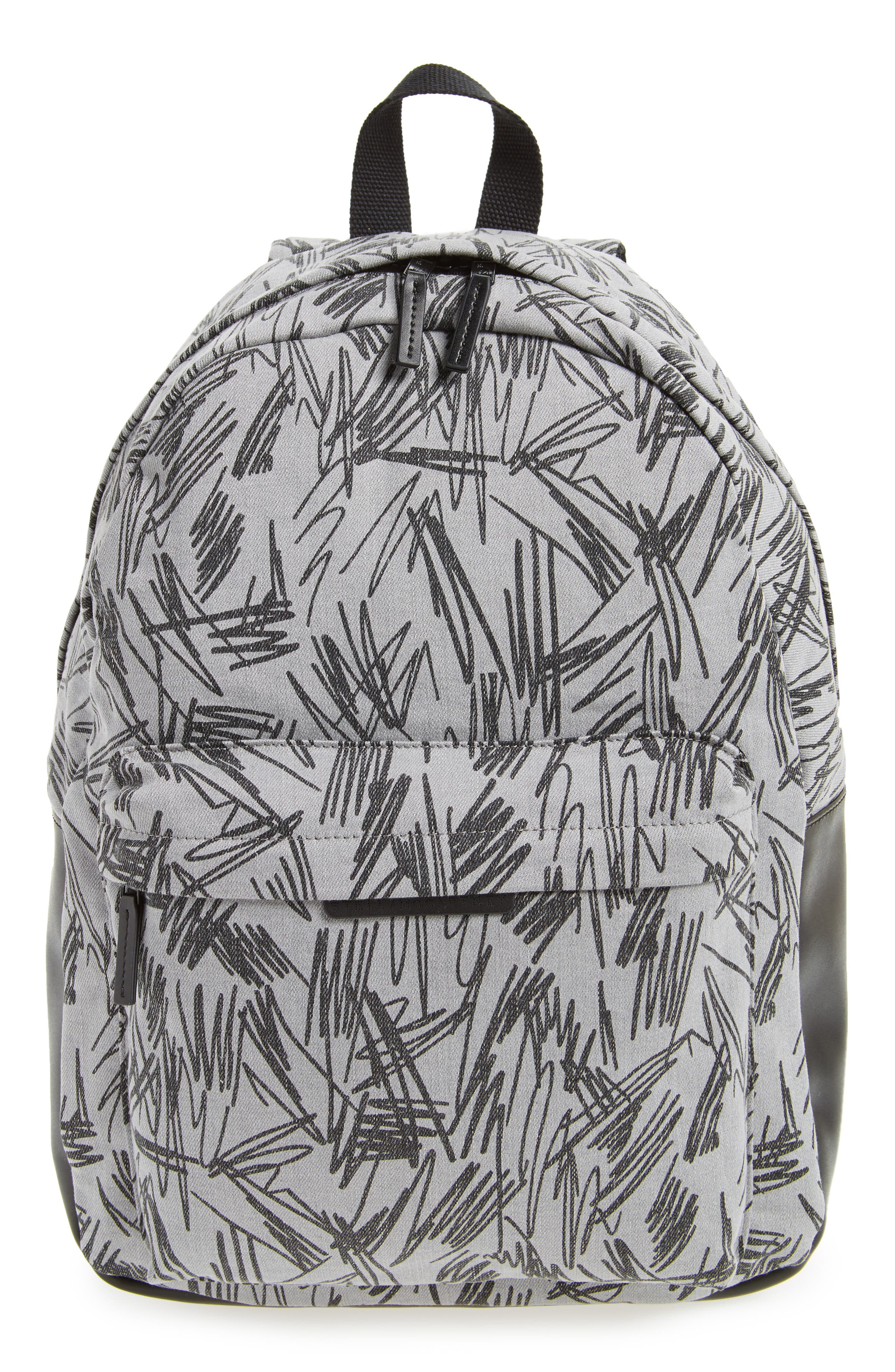 Main Image - Stella McCartney Kids Scribble Print Backpack (Kids)