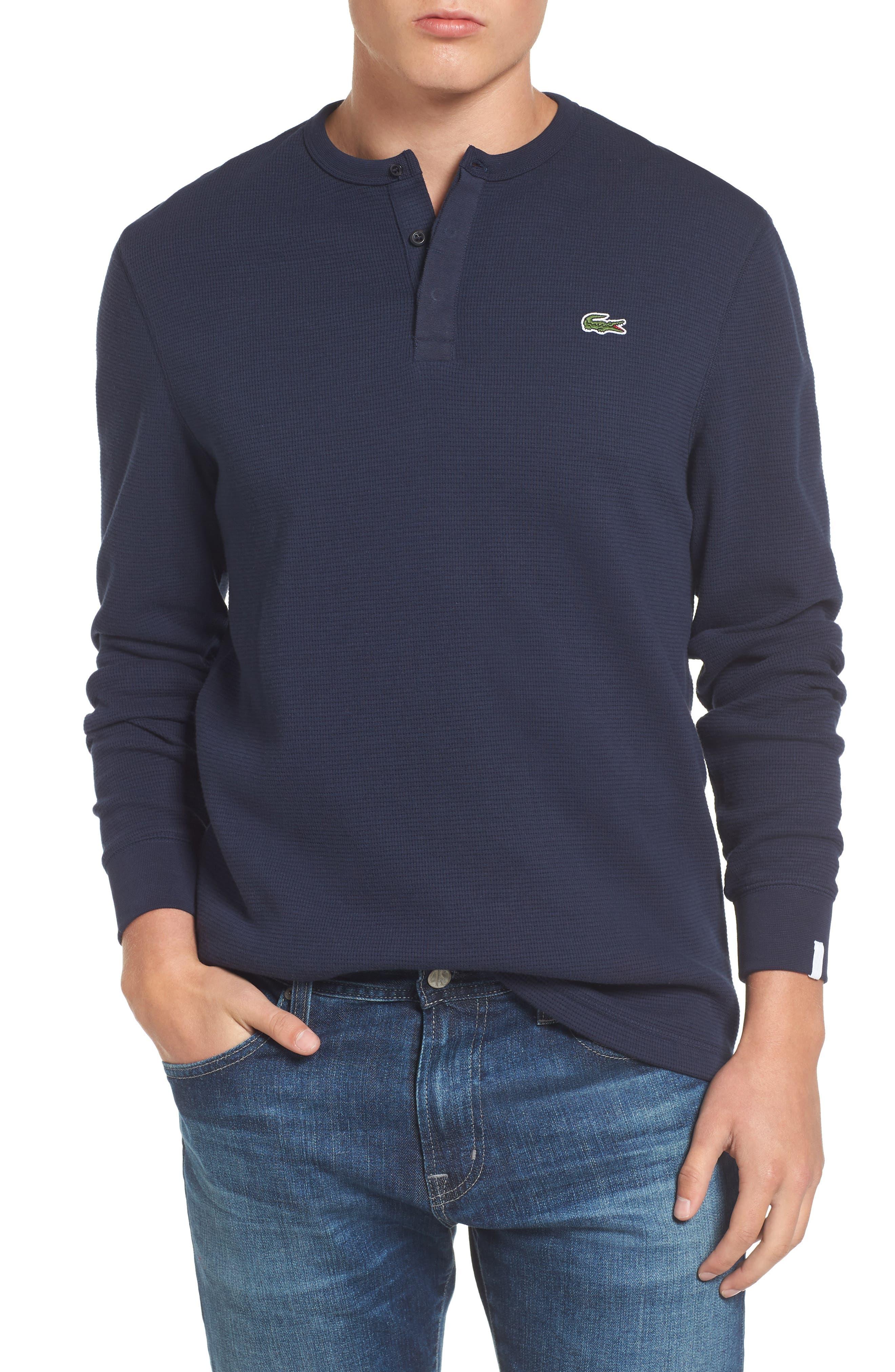 Henley T-Shirt,                         Main,                         color, 423 Navy Blue/ Navy Blue