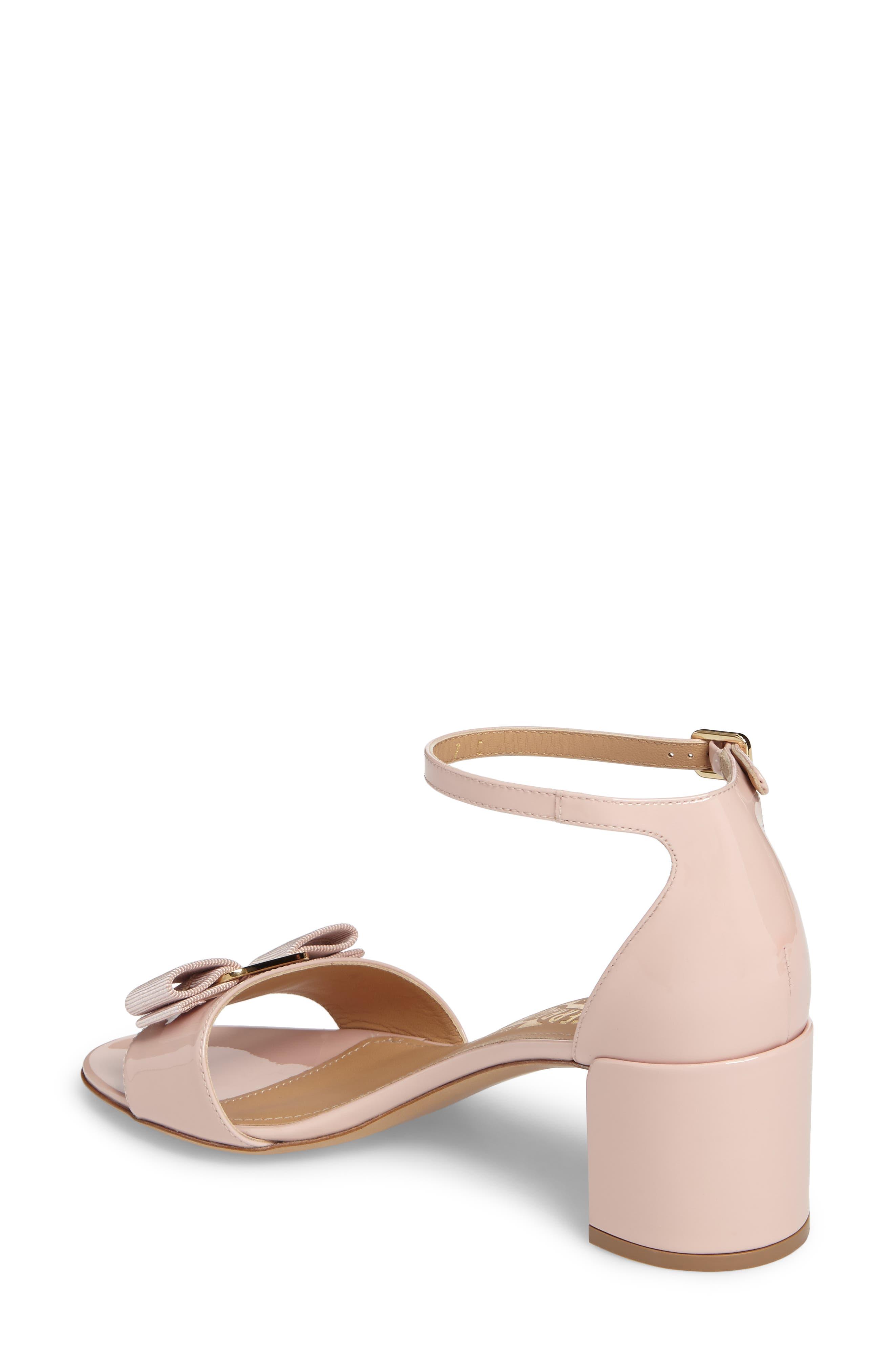 Gavina Ankle Strap Sandal,                             Alternate thumbnail 2, color,                             Bon Bon Pink