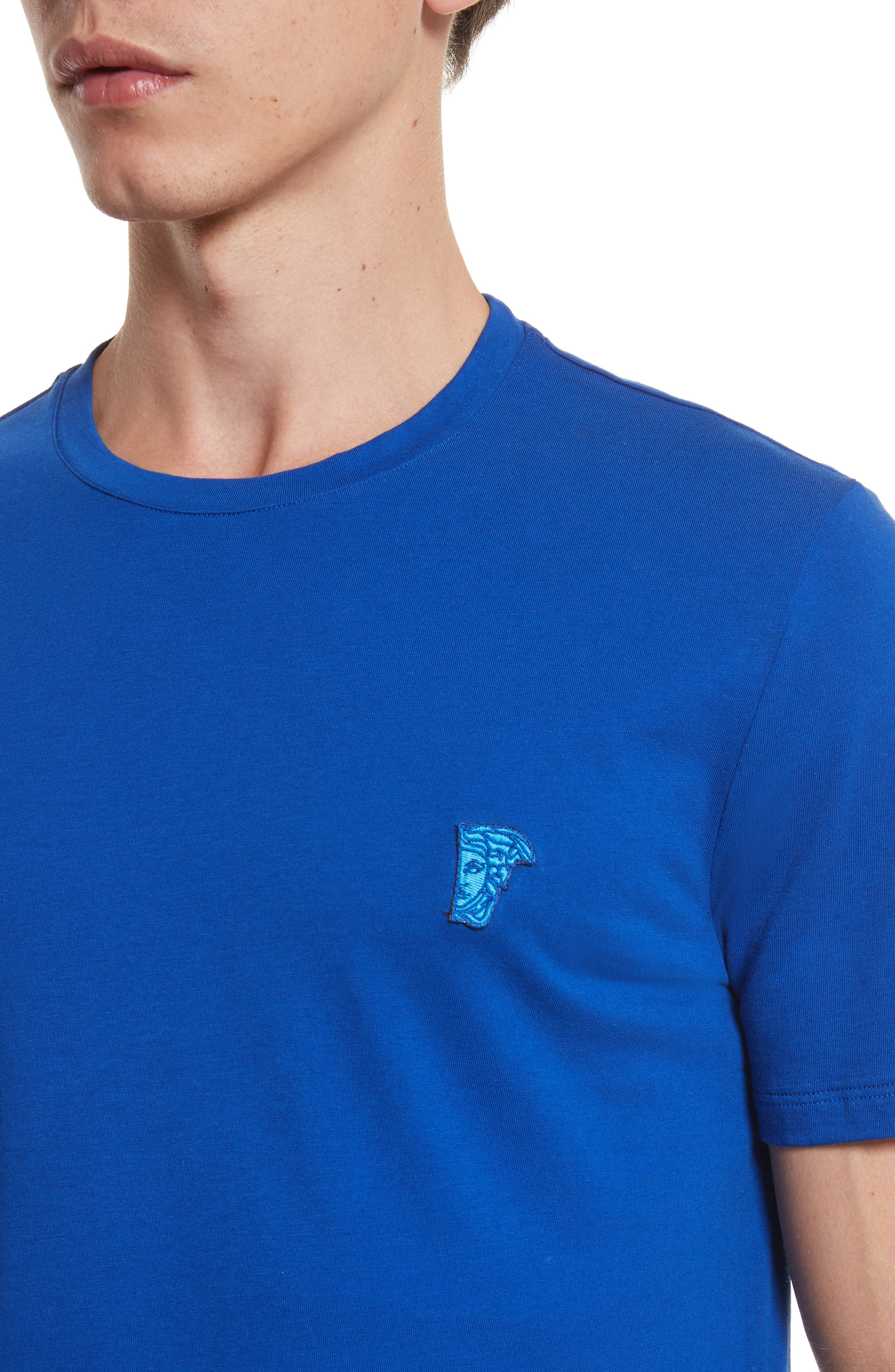 Alternate Image 4  - Versace Collection Medusa Patch T-Shirt