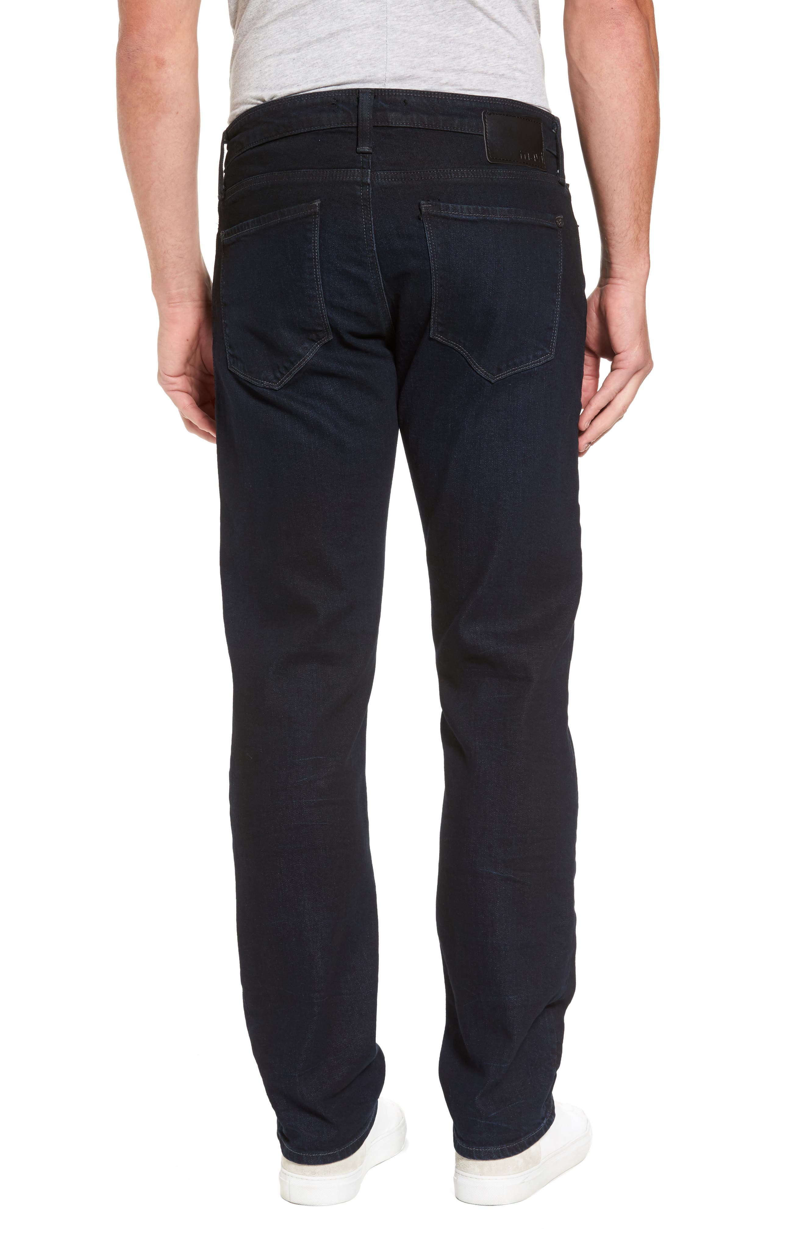 Alternate Image 2  - Mavi Jeans Zach Straight Leg Jeans (Coated Authentic Vintage)