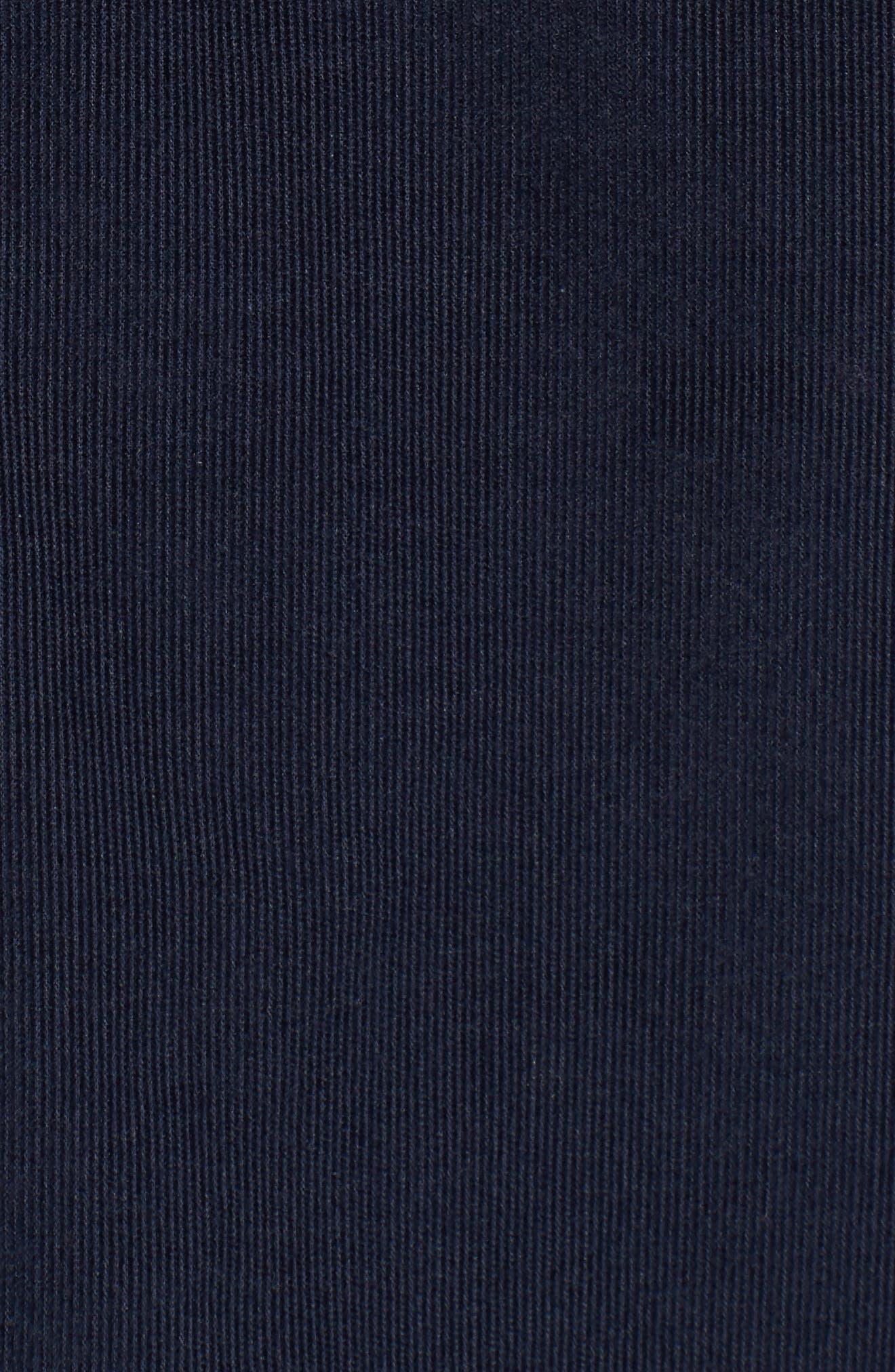 Corduroy Sport Shirt,                             Alternate thumbnail 5, color,                             Marine Blue