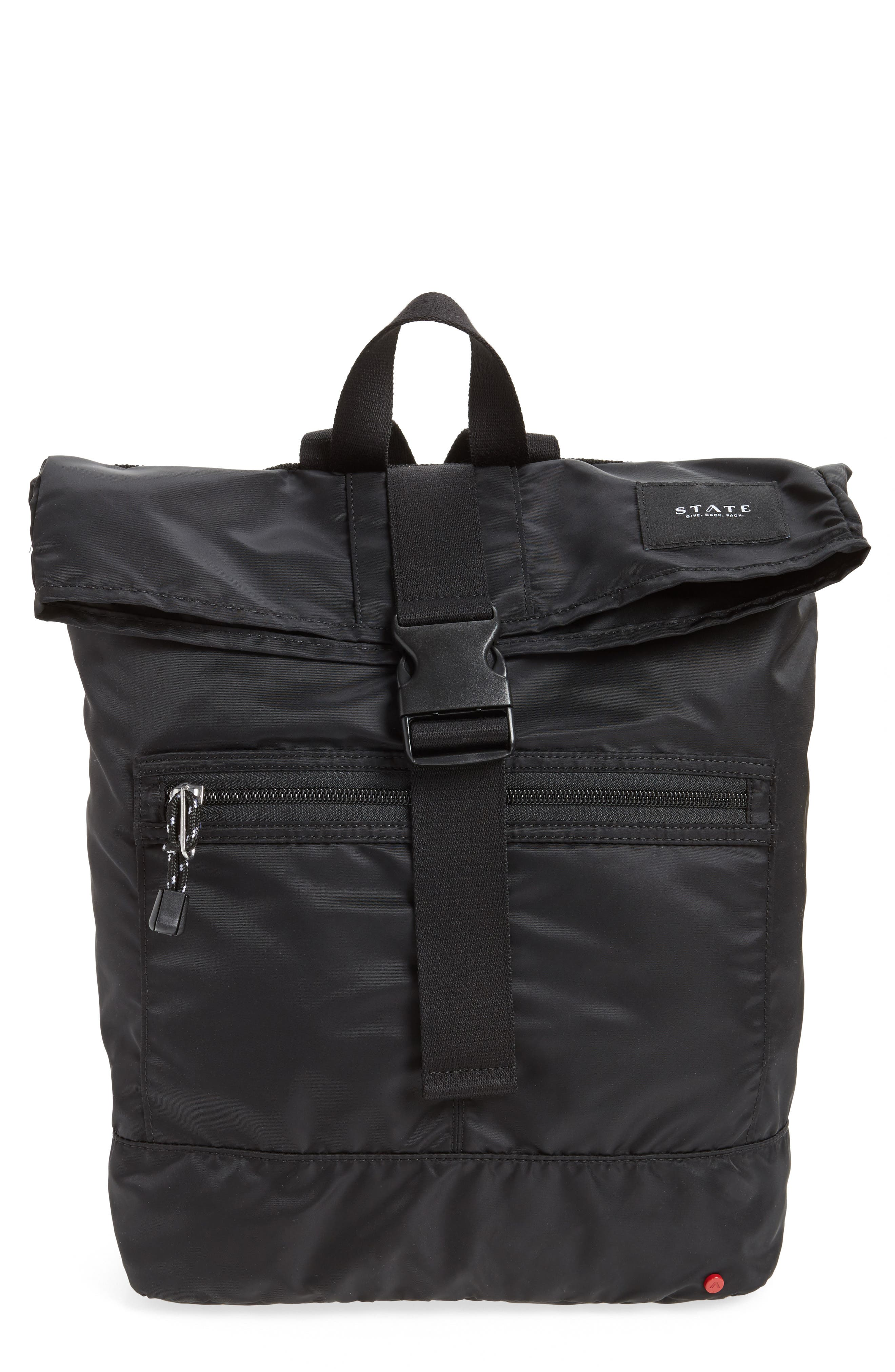 STATE Bags Bond Heights Packable Nylon Backpack