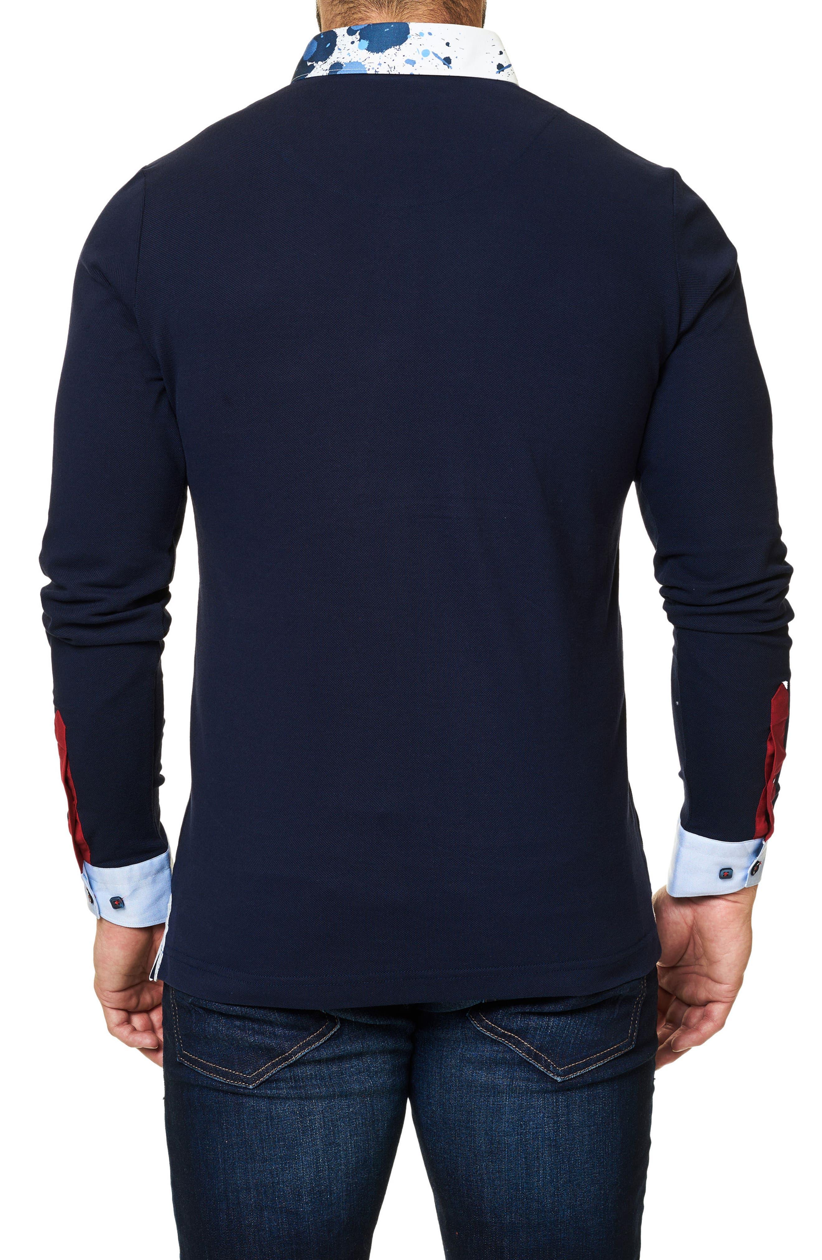 Alternate Image 2  - Maceoo Long Sleeve Polo