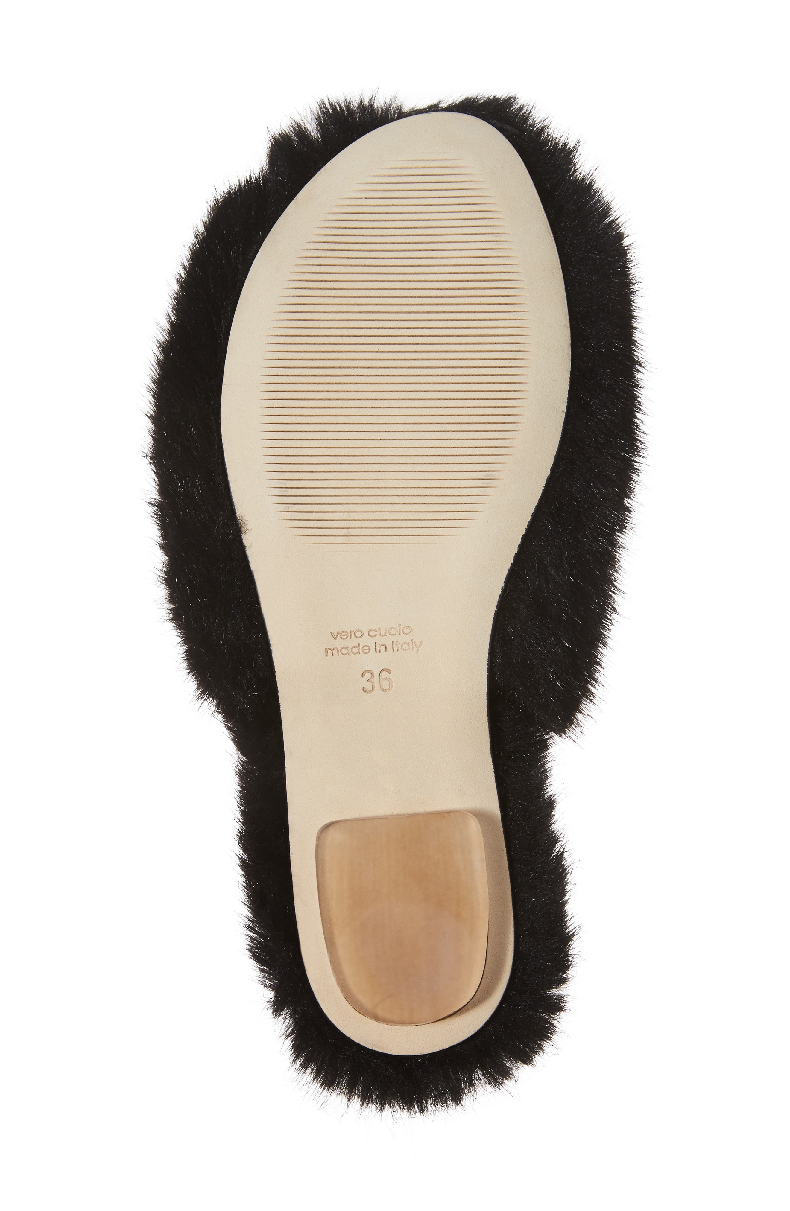Alternate Image 6  - Simone Rocha Faux Fur Mule (Women)