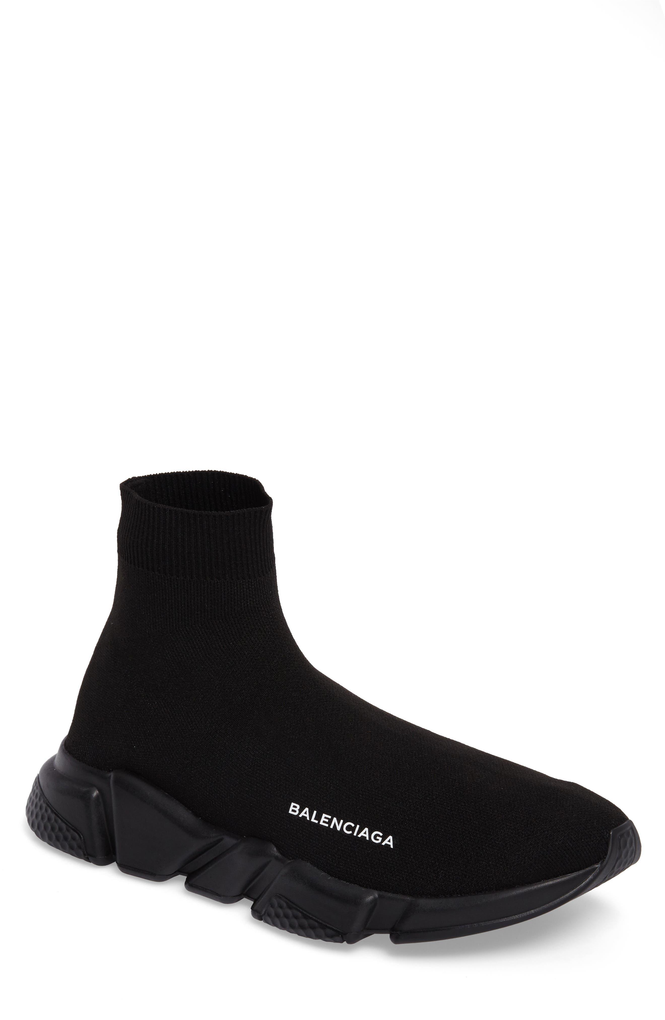 Alternate Image 1 Selected - Balenciaga Speed High Slip-On (Men)