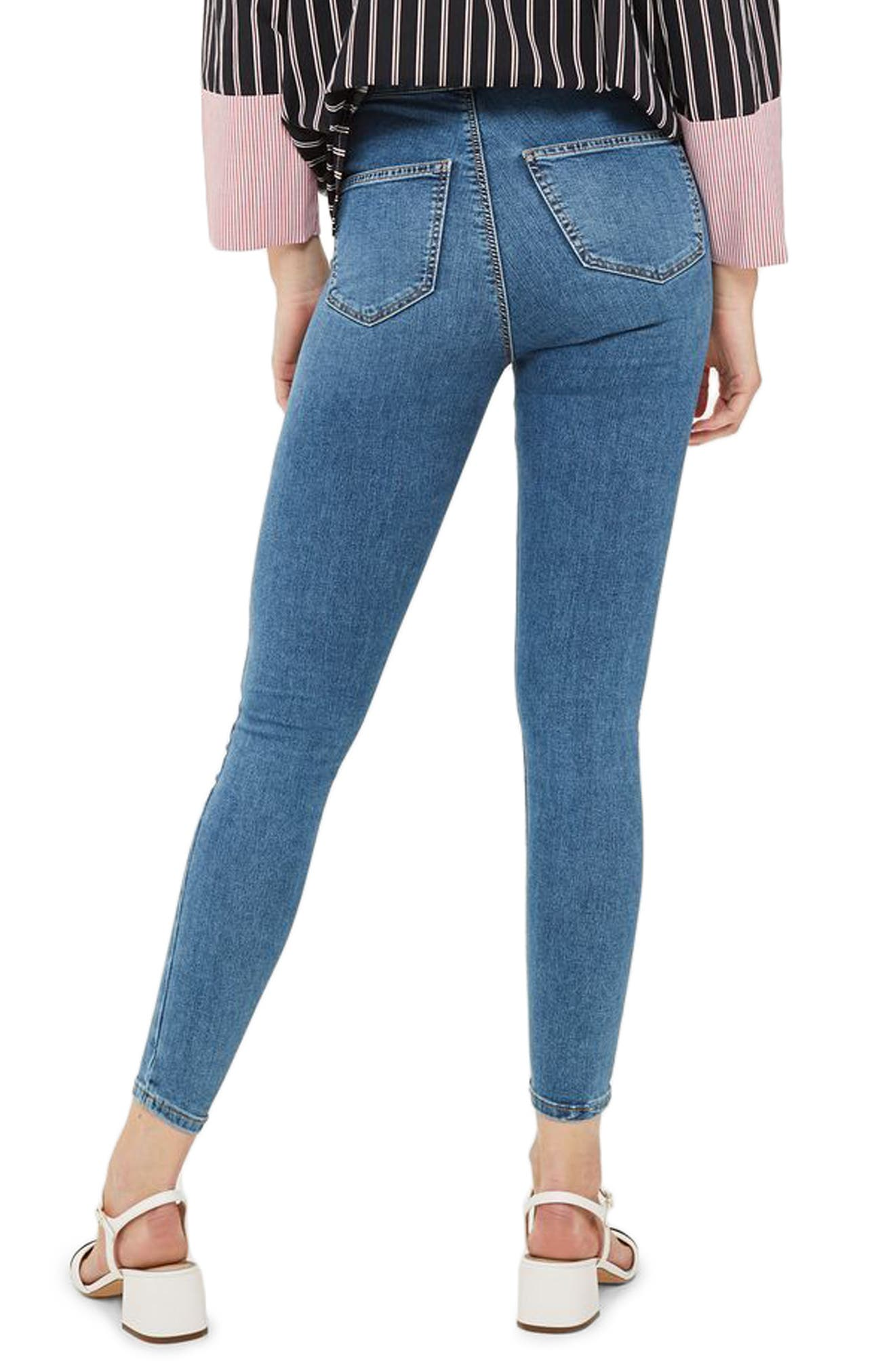 Alternate Image 3  - Topshop Joni High Waist Skinny Jeans