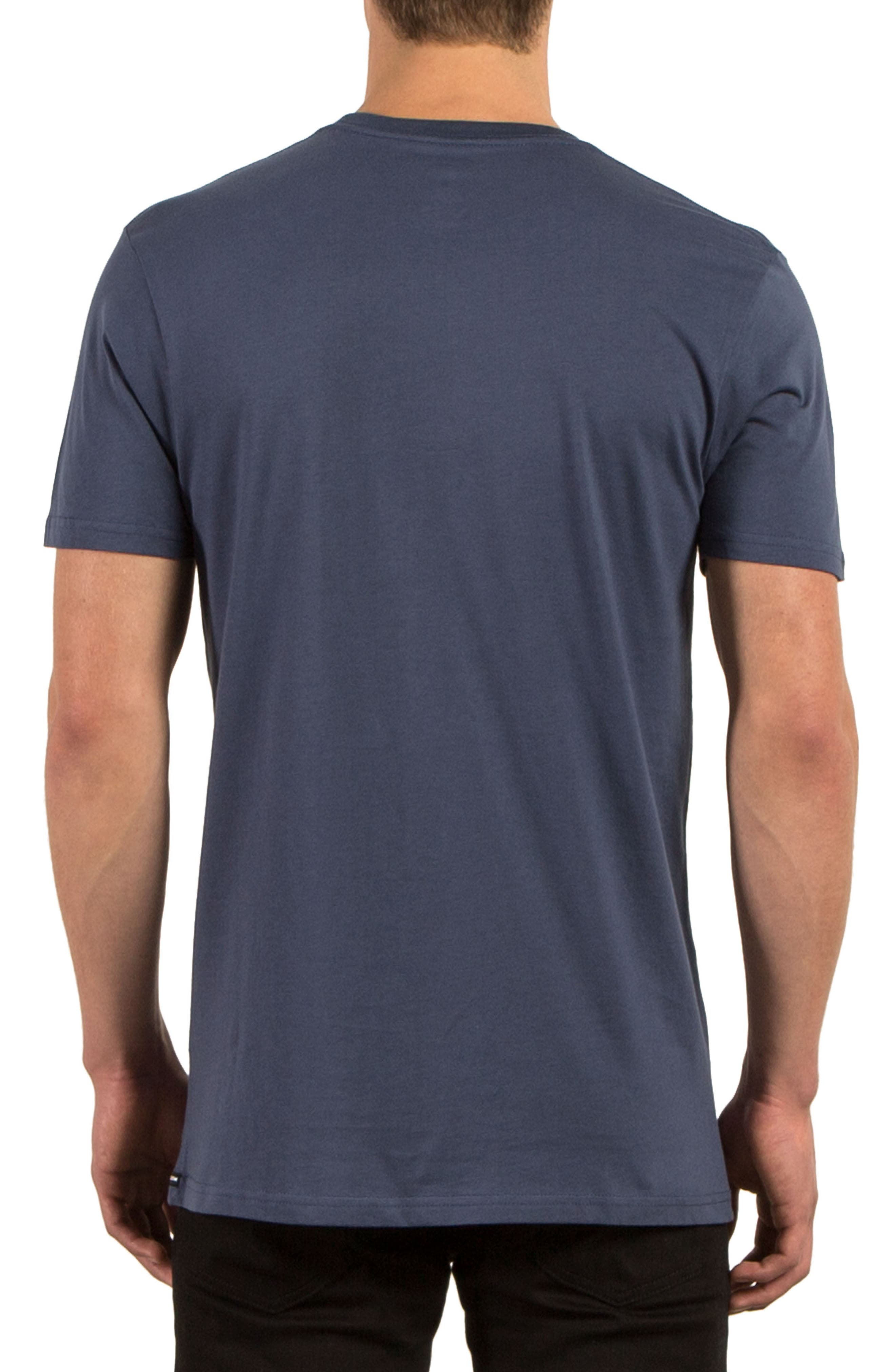 Classic Stone Graphic T-Shirt,                             Alternate thumbnail 2, color,                             Blue