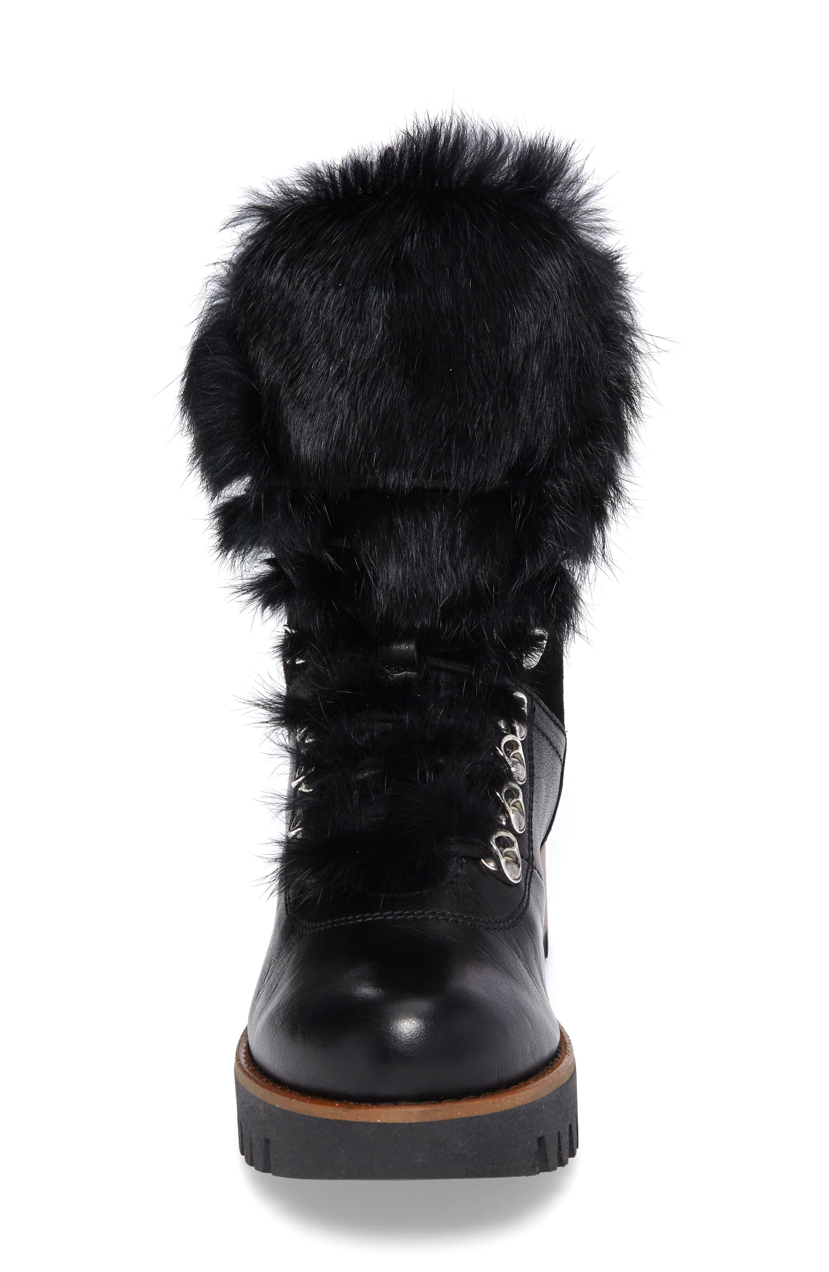 Alternate Image 4  - Rudsak Tsar Genuine Rabbit Fur Boot (Women)