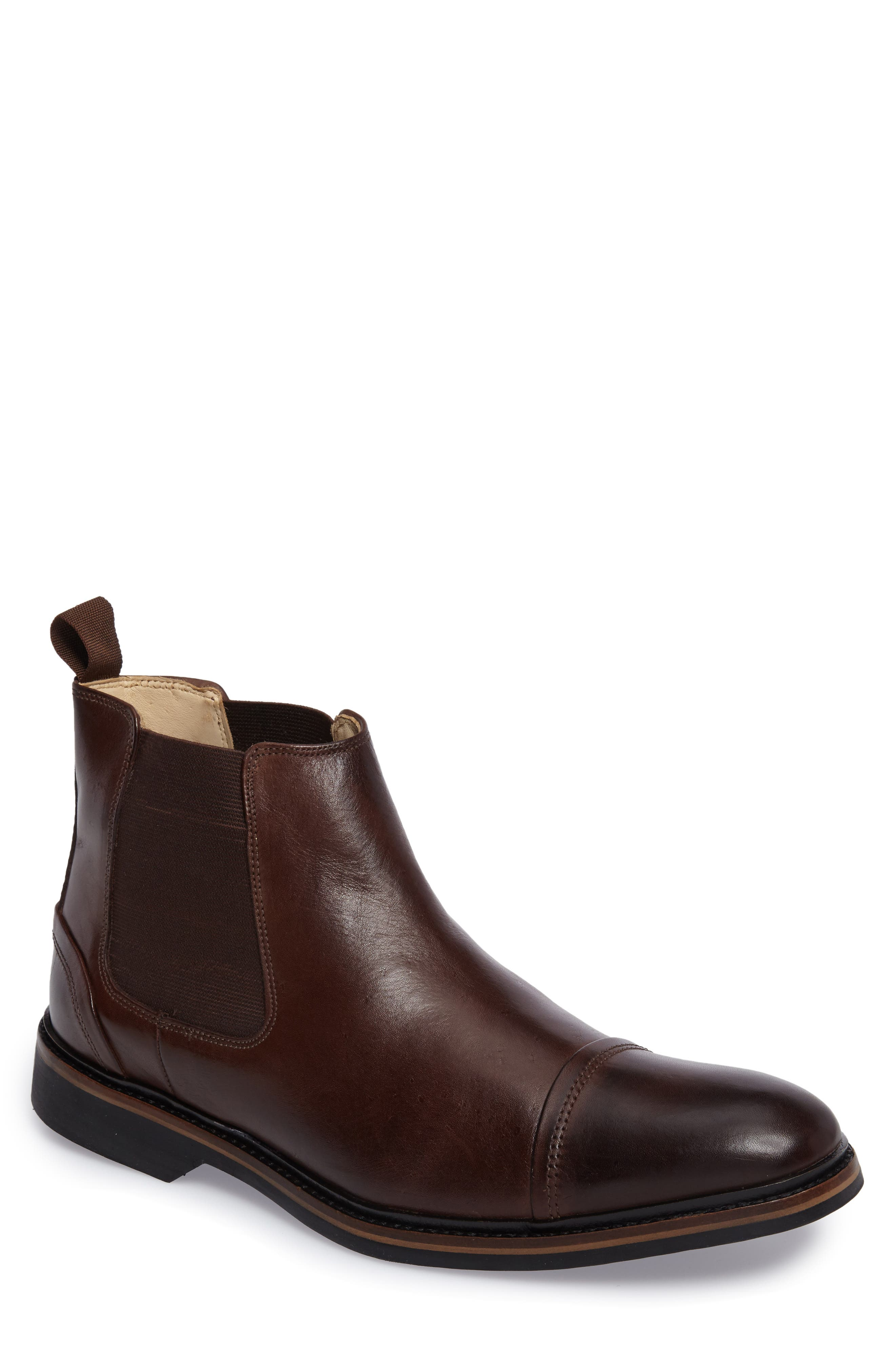Floriano Chelsea Boot,                         Main,                         color, Touch Castanho
