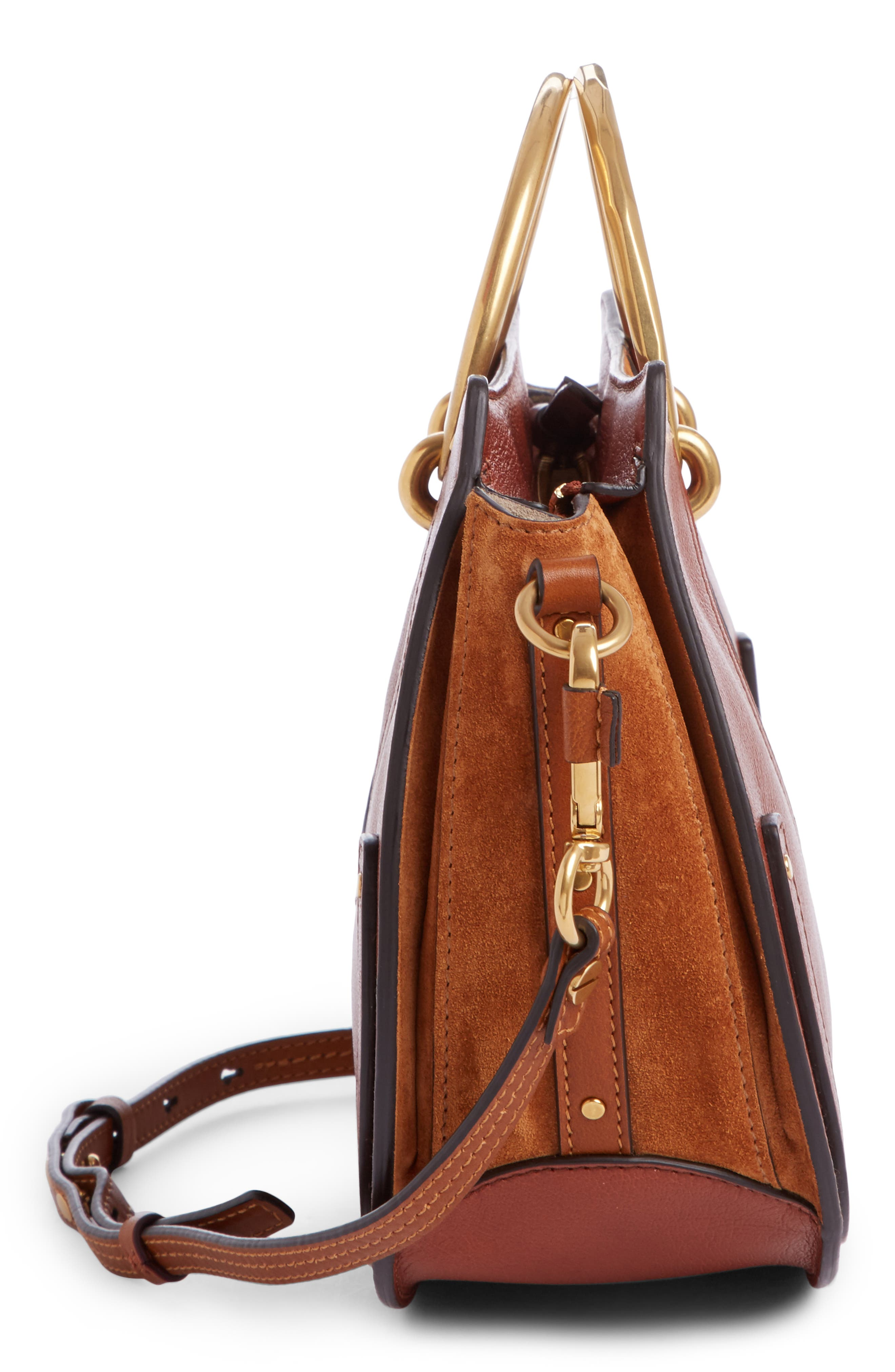 Alternate Image 3  - Chloé Medium Pixie Top Handle Leather Satchel