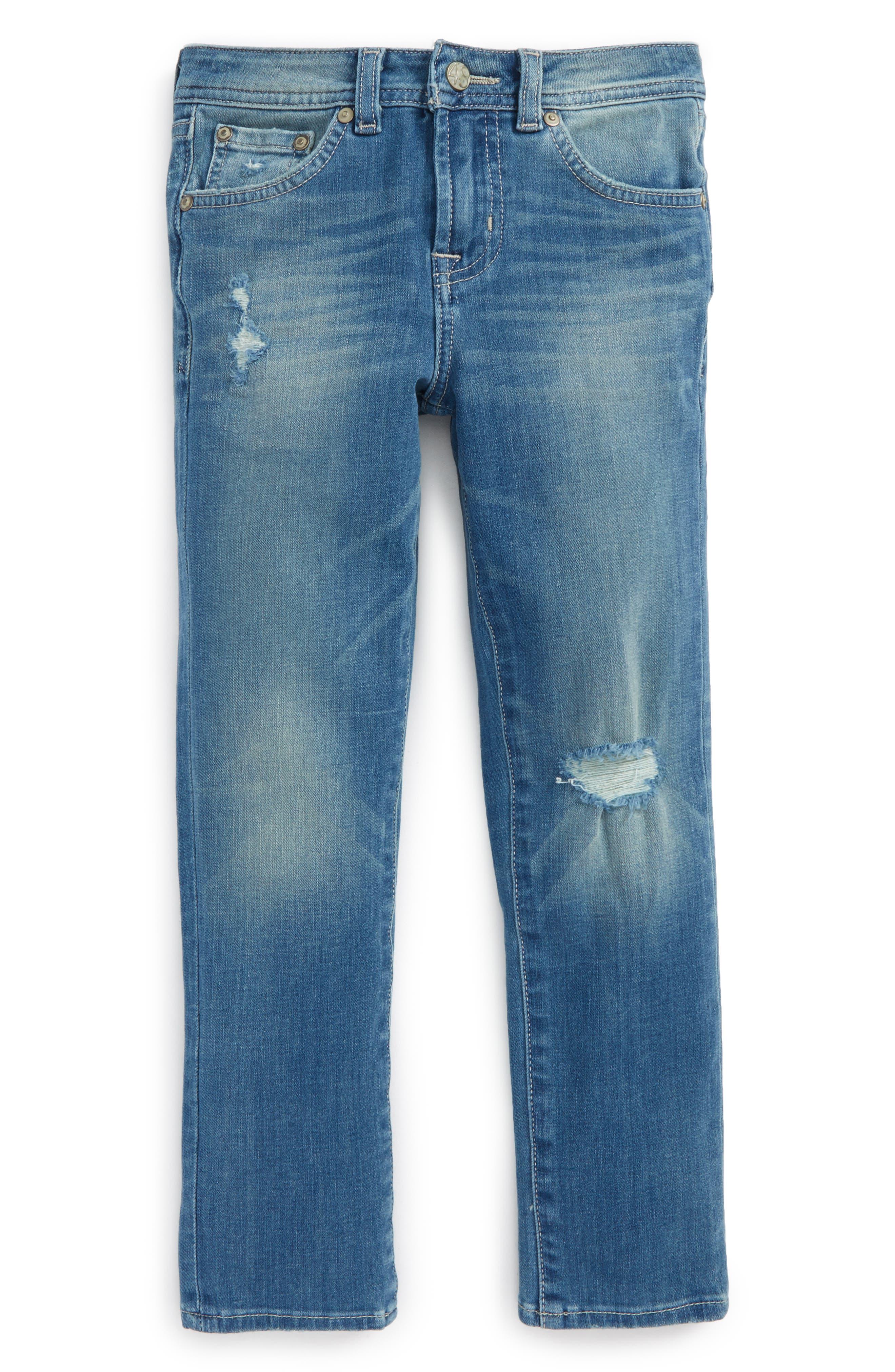 Alternate Image 1 Selected - ag adriano goldschmied kids The Noah Slim Straight Leg Jeans (Toddler Boys & Little Boys)