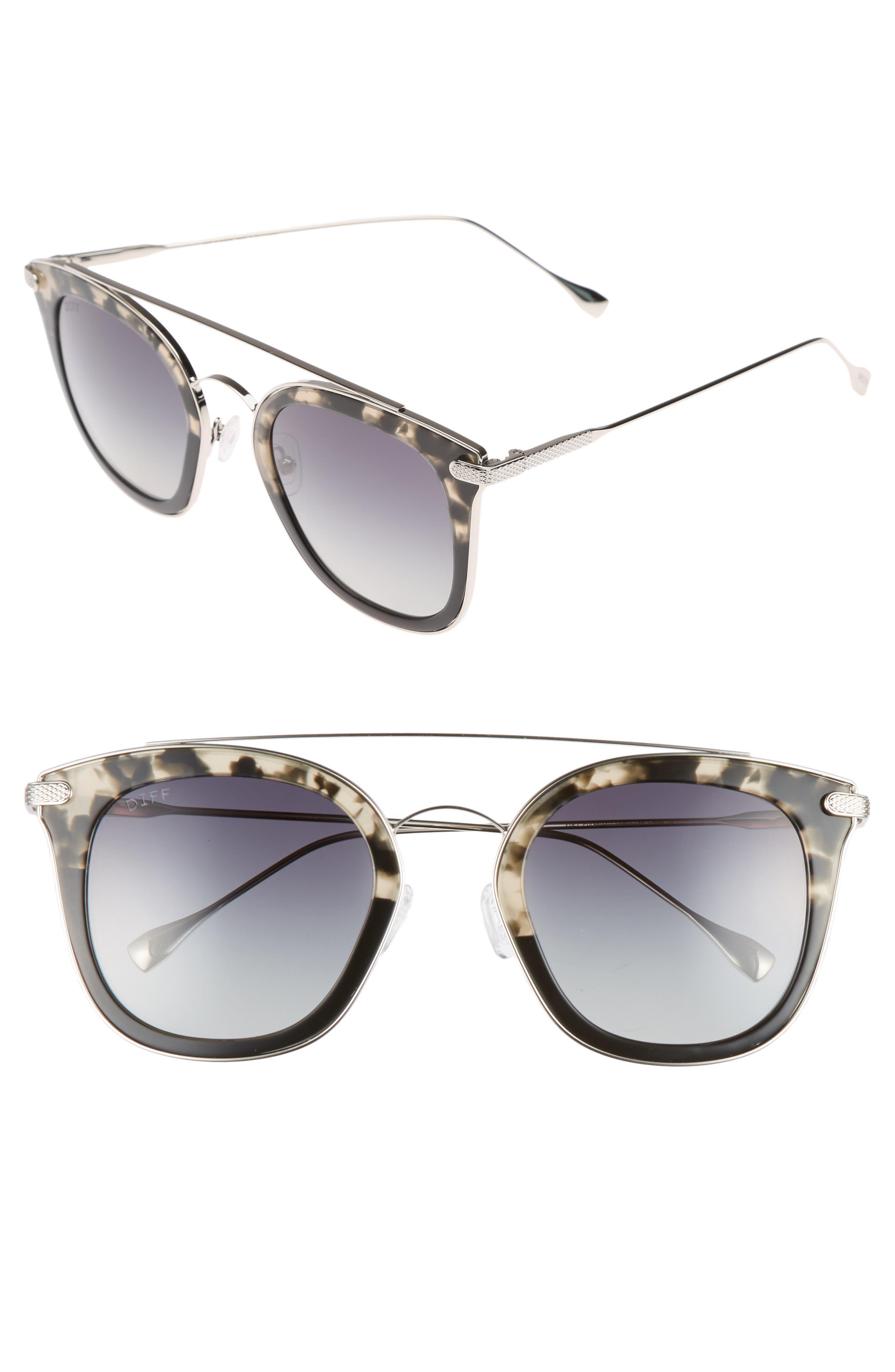 DIFF Zoey 51mm Polarized Sunglasses