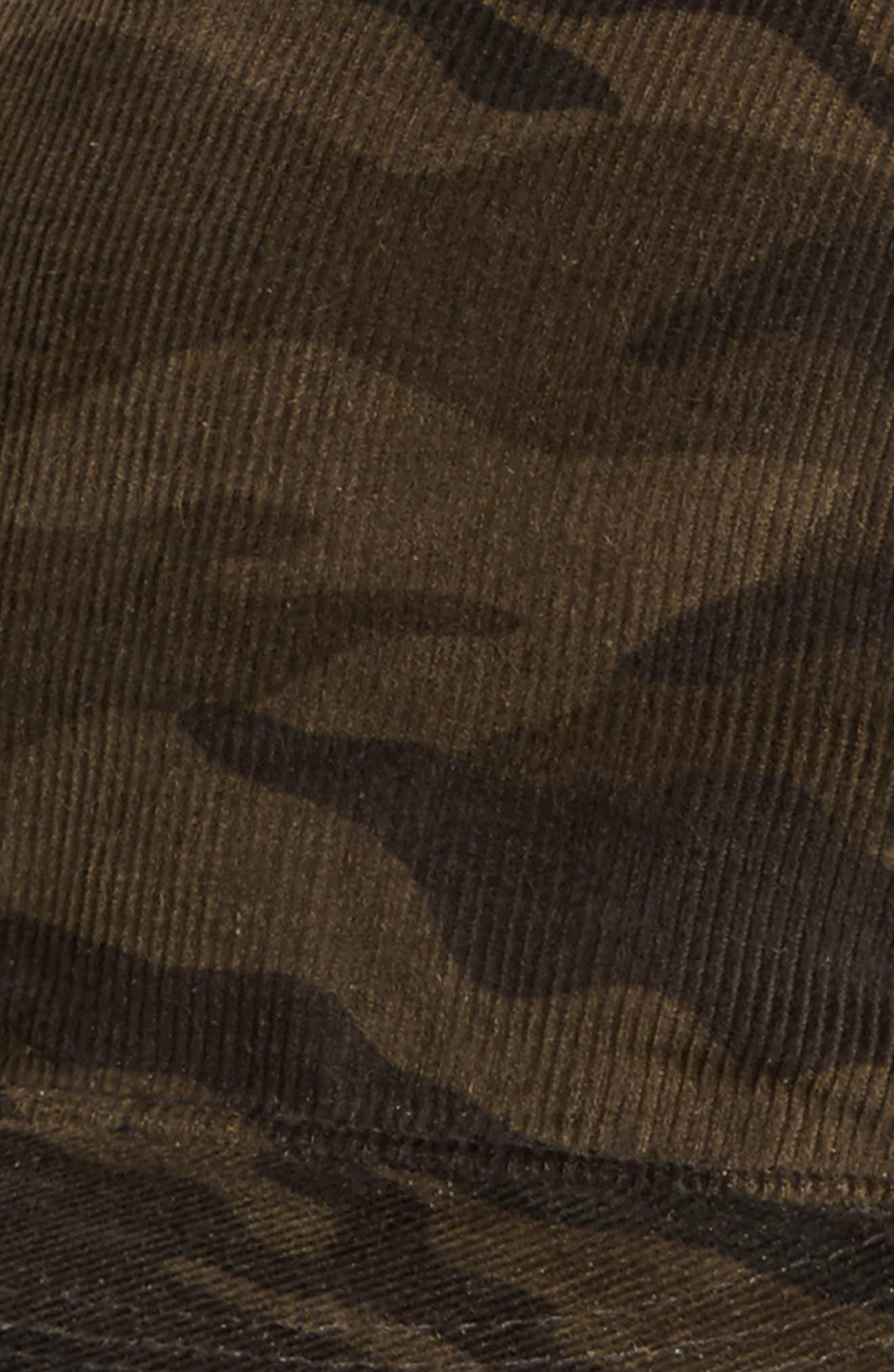 The Hunt Camo Corduroy Ball Cap,                             Alternate thumbnail 3, color,                             Camo