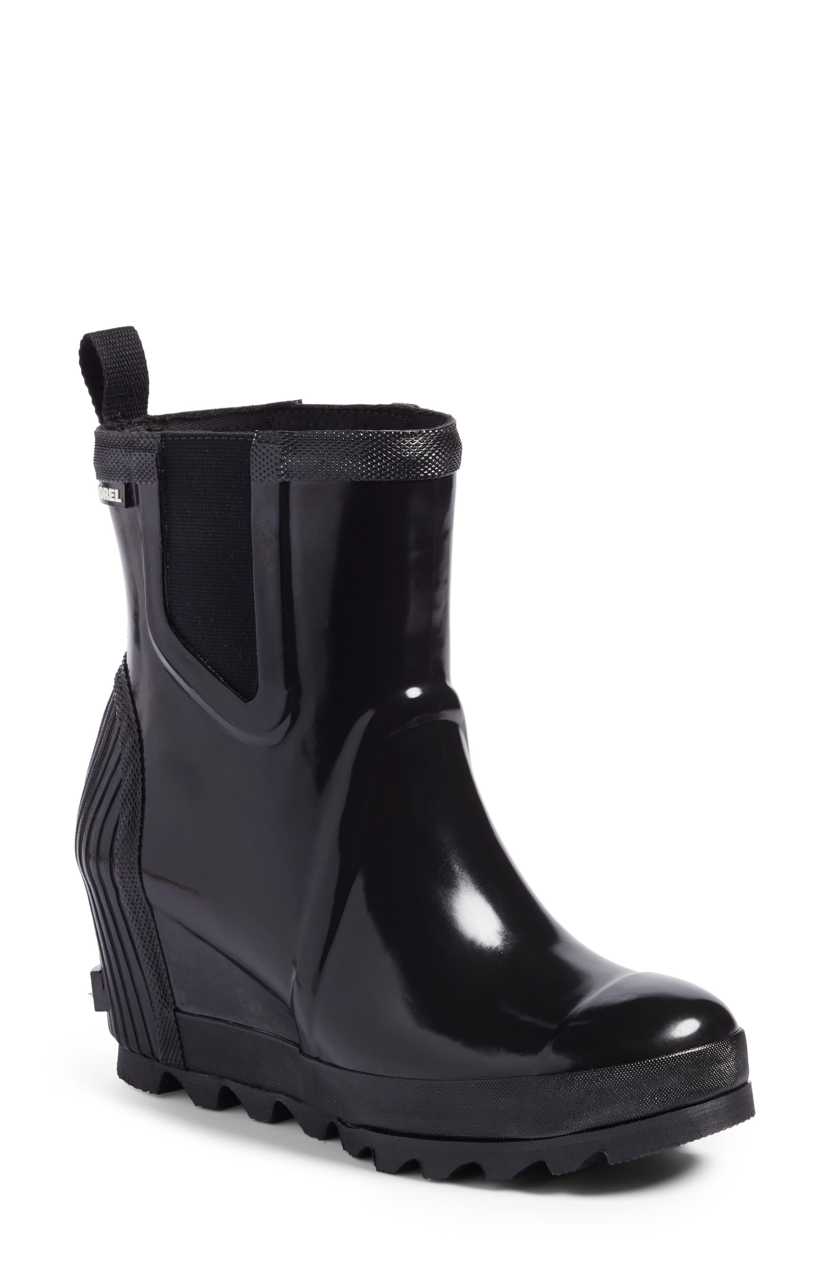 SOREL Joan of Arctic™ Wedge Chelsea Rain Boot (Women)