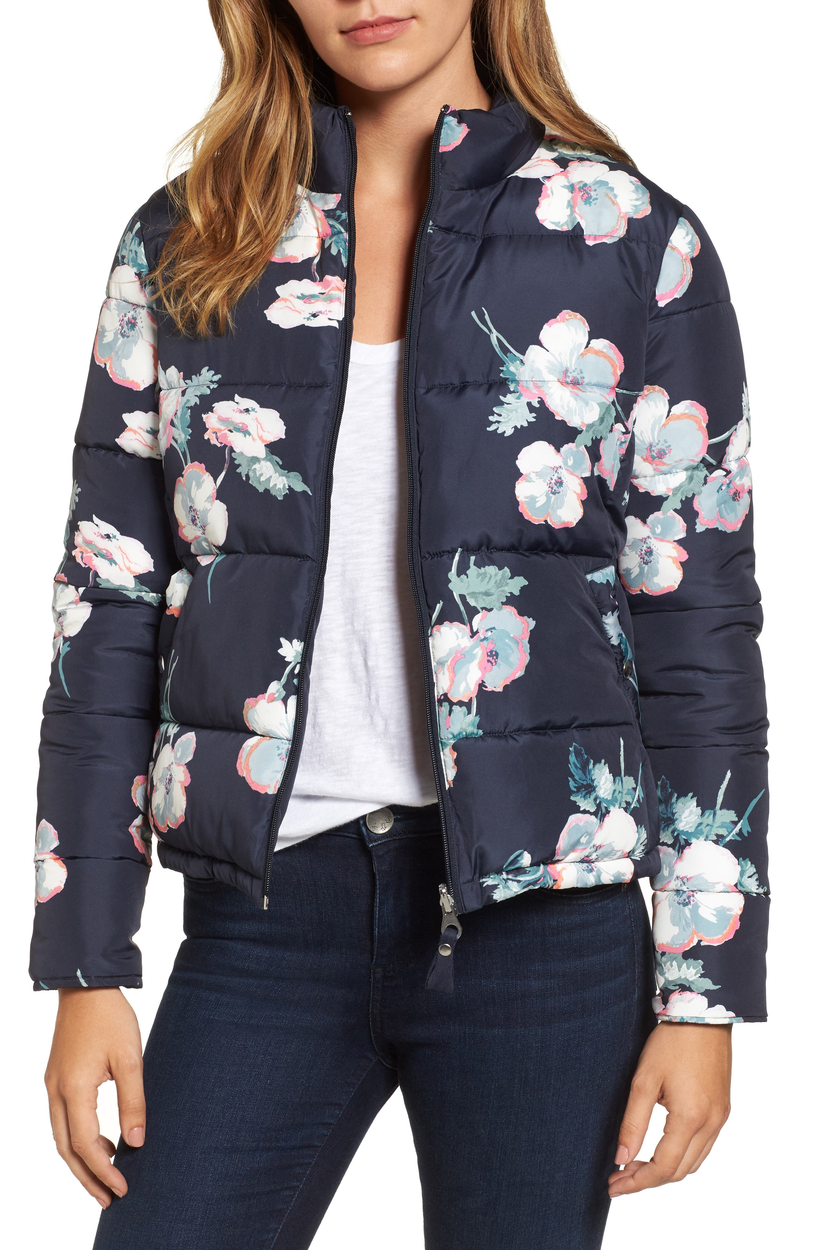 Joules Reversible Puffer Jacket