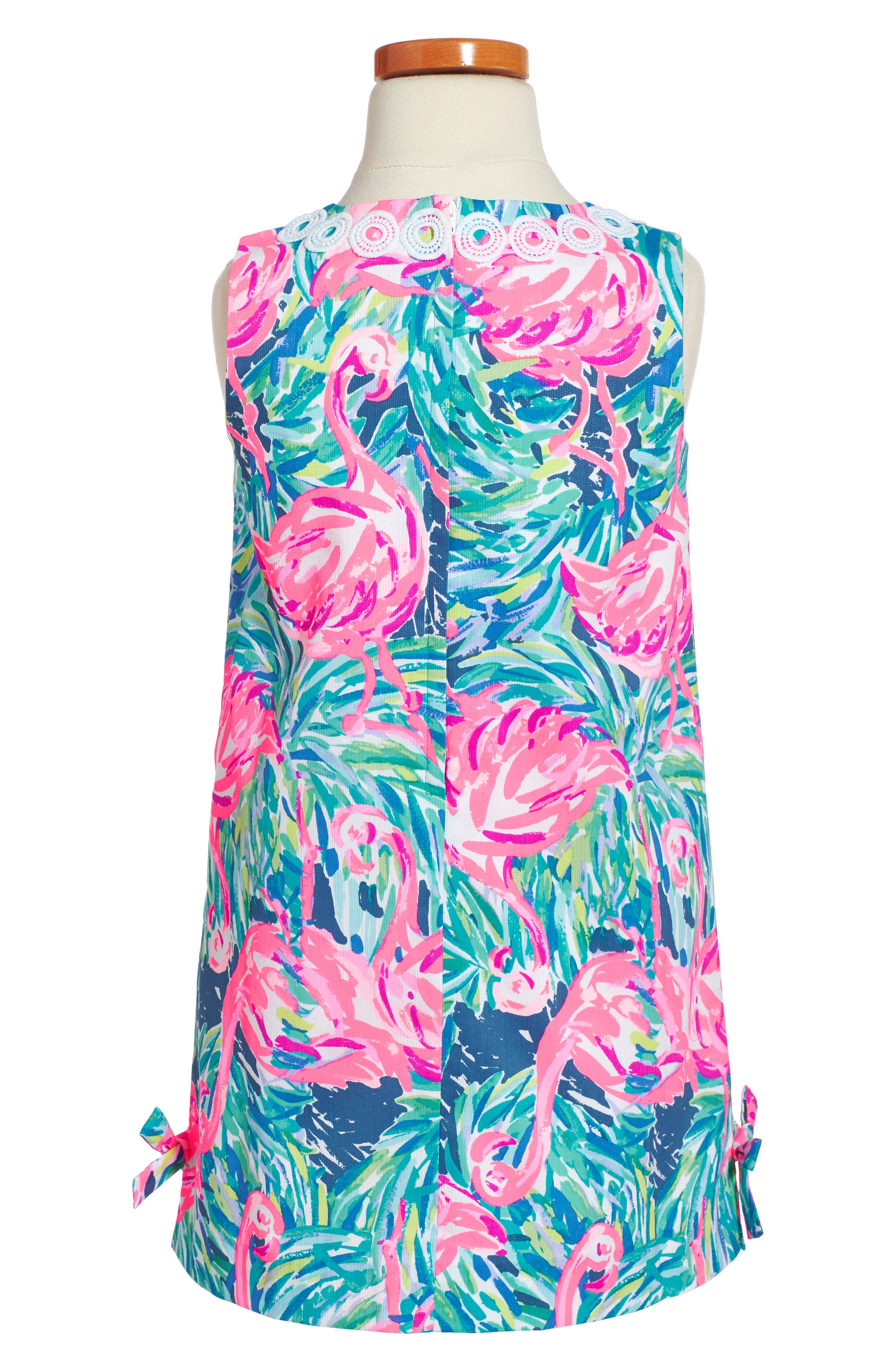 Alternate Image 2  - Lilly Pulitzer® Classic Shift Dress (Toddler Girls, Little Girls & Big Girls)