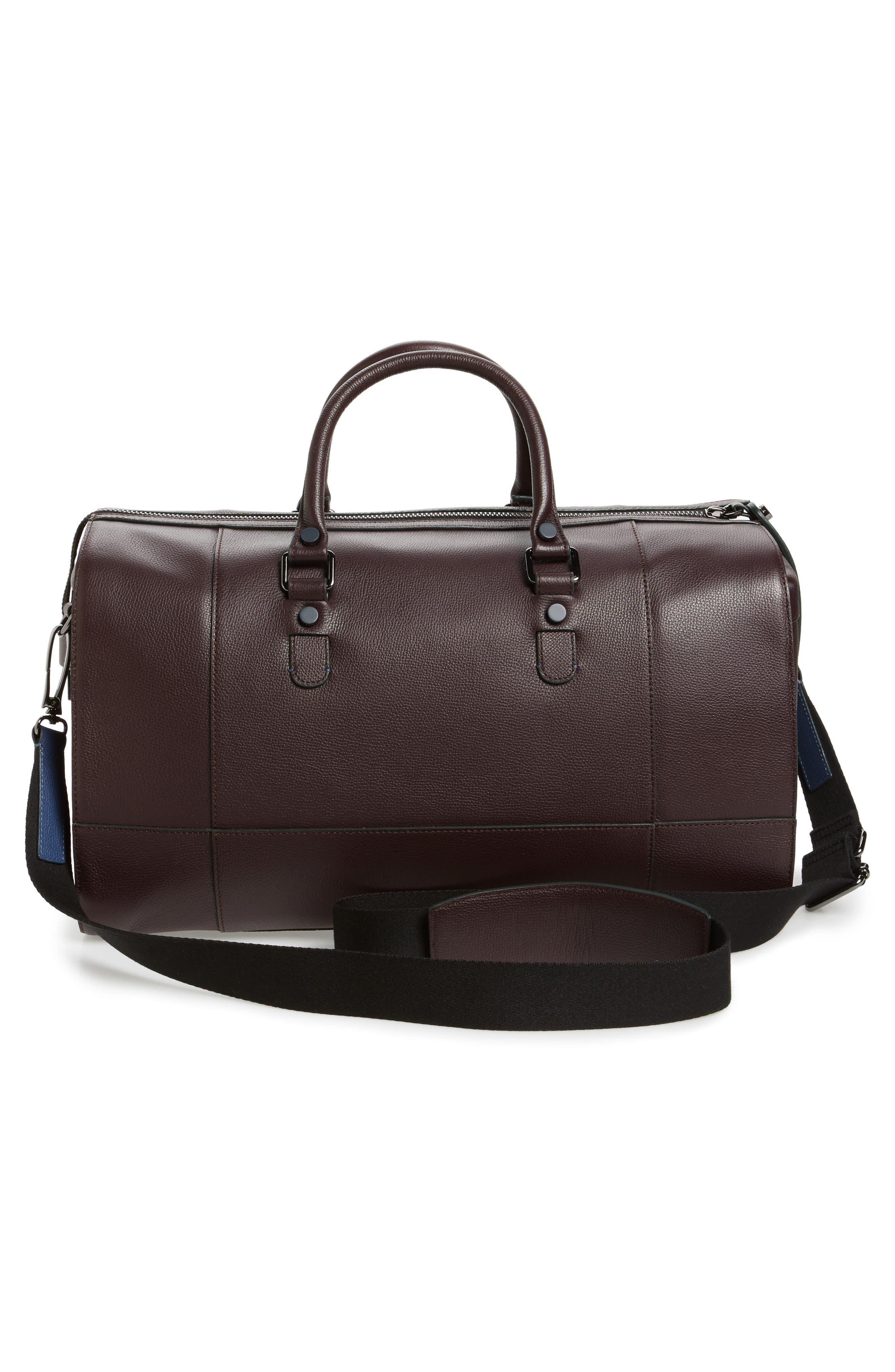 Alternate Image 3  - Ted Baker London Panthea Leather Duffel Bag