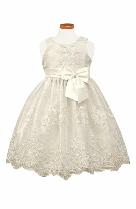 e5b56be4aa1 Sorbet Embroidered Fit   Flare Dress (Toddler Girls