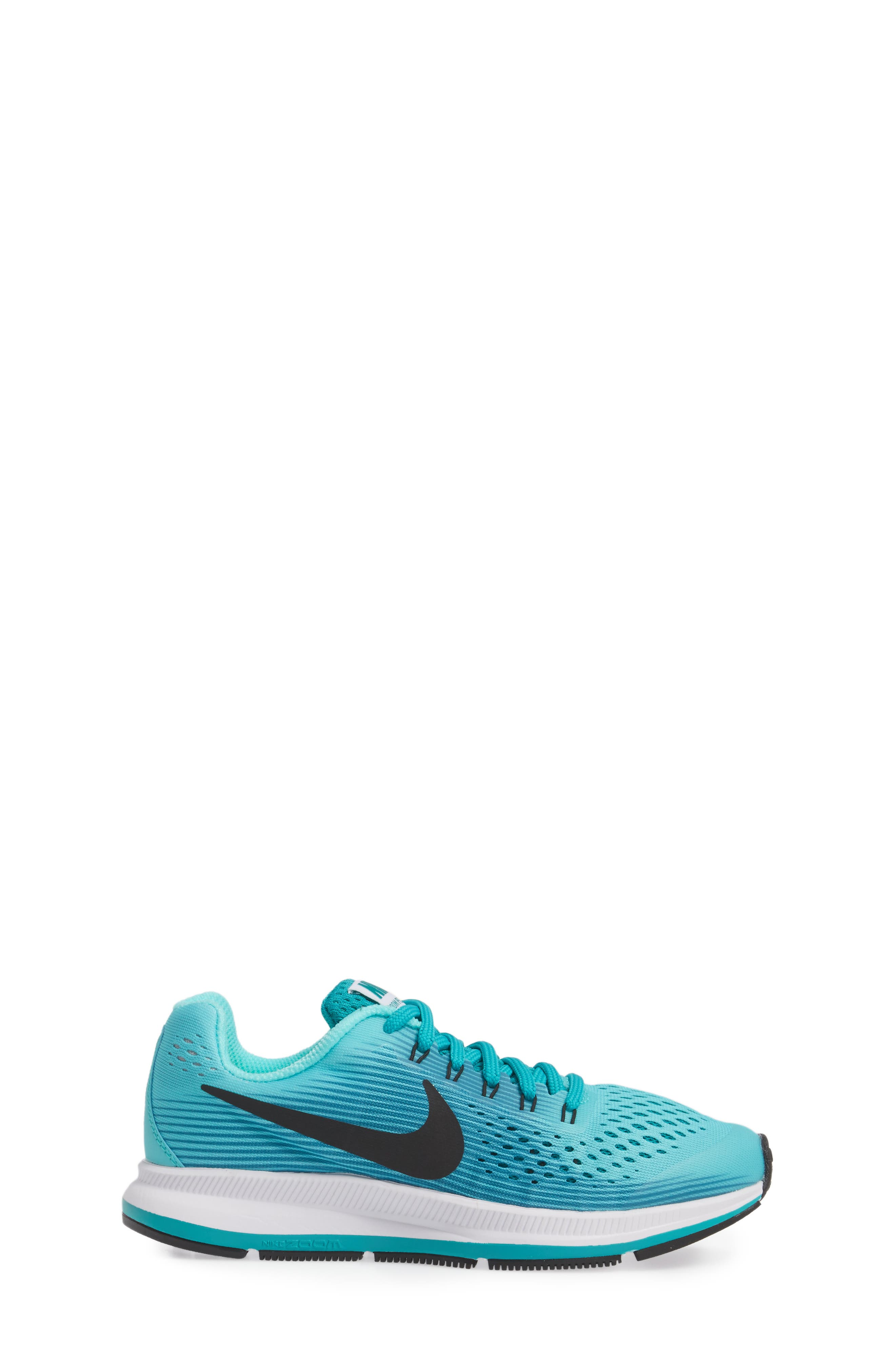 Alternate Image 3  - Nike Zoom Pegasus 34 Sneaker (Little Kid & Big Kid)