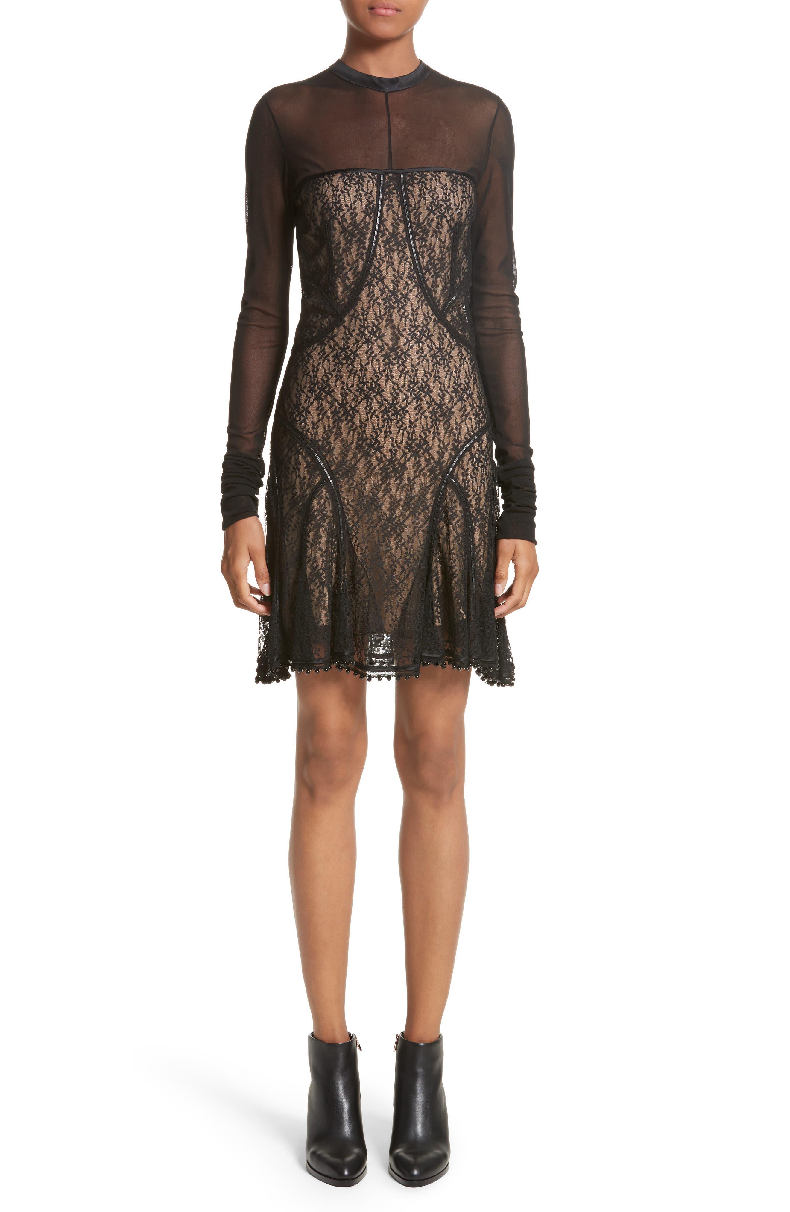 Alternate Image 1 Selected - Alexander Wang Lace Dress