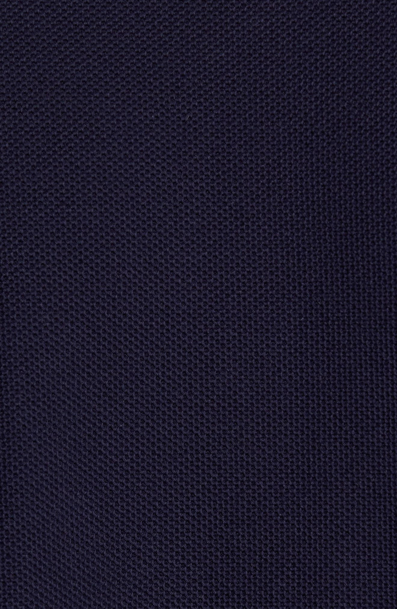 Regular Fit Herringbone Sport Shirt,                             Alternate thumbnail 5, color,                             Indigo