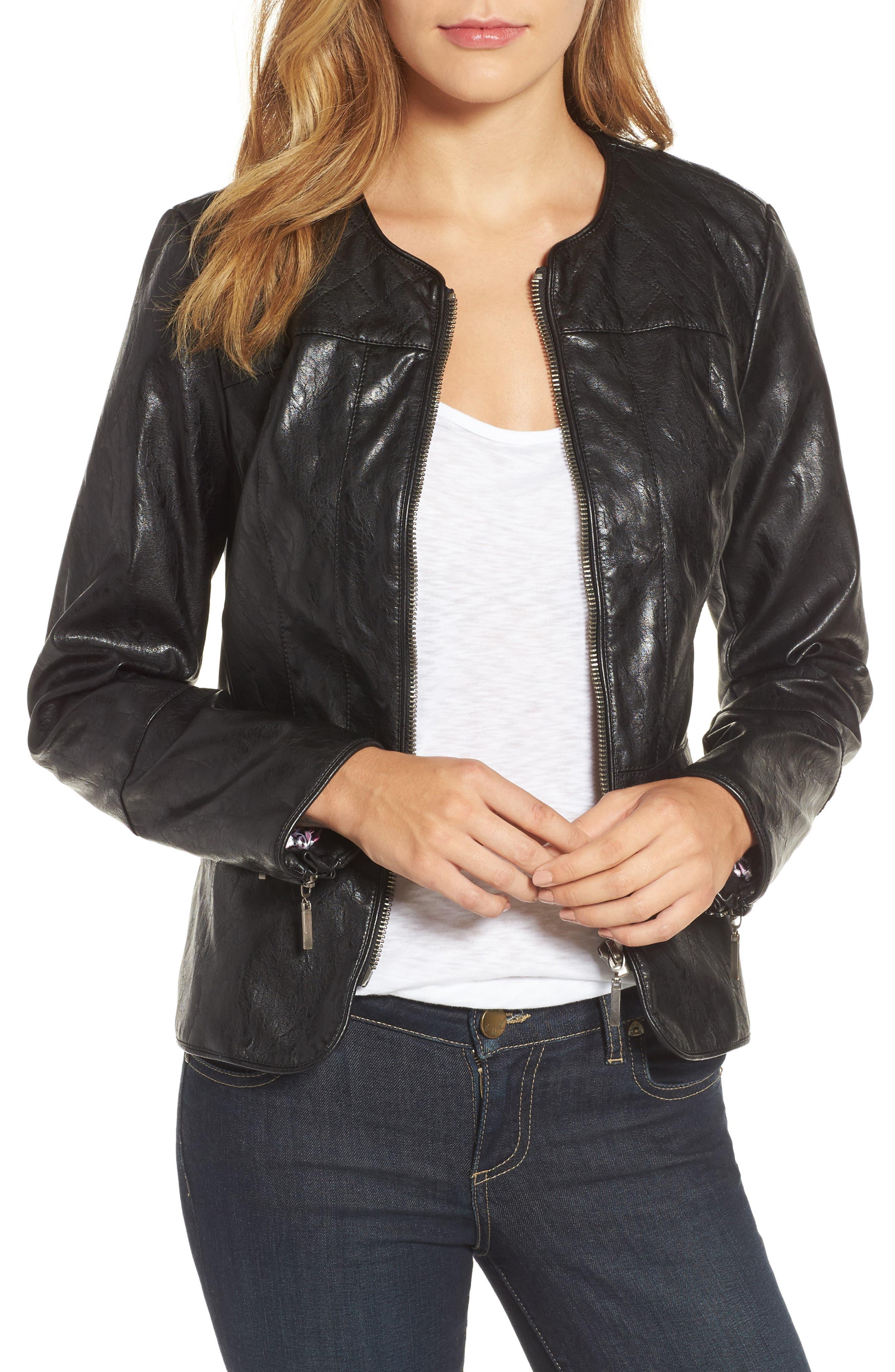 Brandy Motocross Jacket,                         Main,                         color, Black